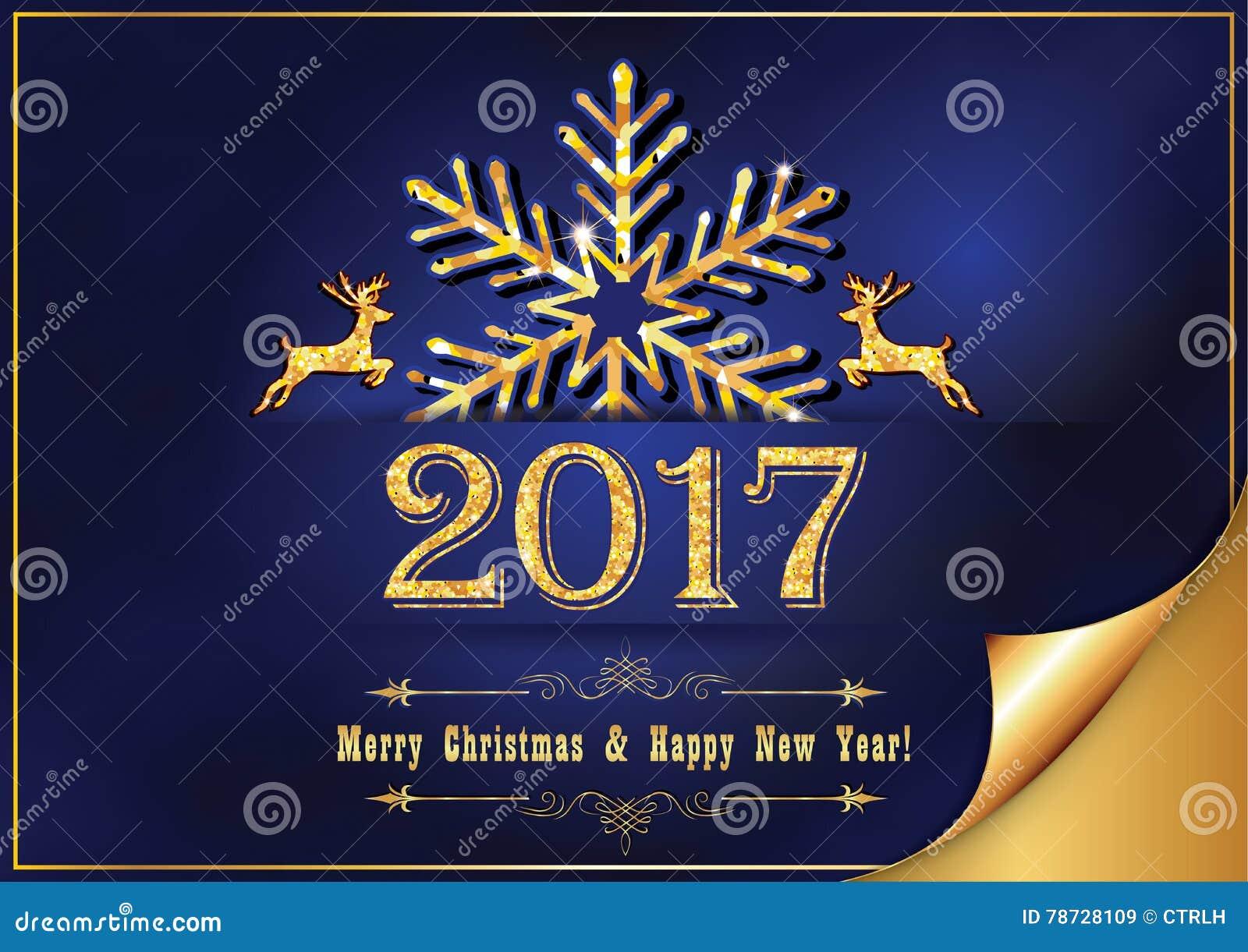 Företags hälsningkort för nytt år för tryck