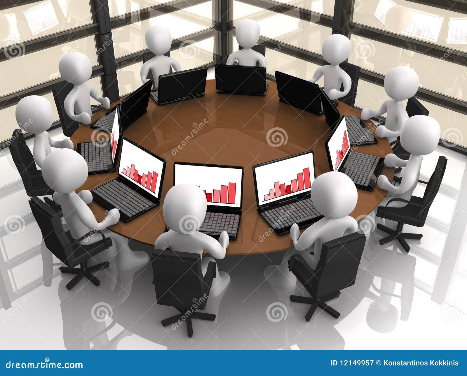 Företags möte