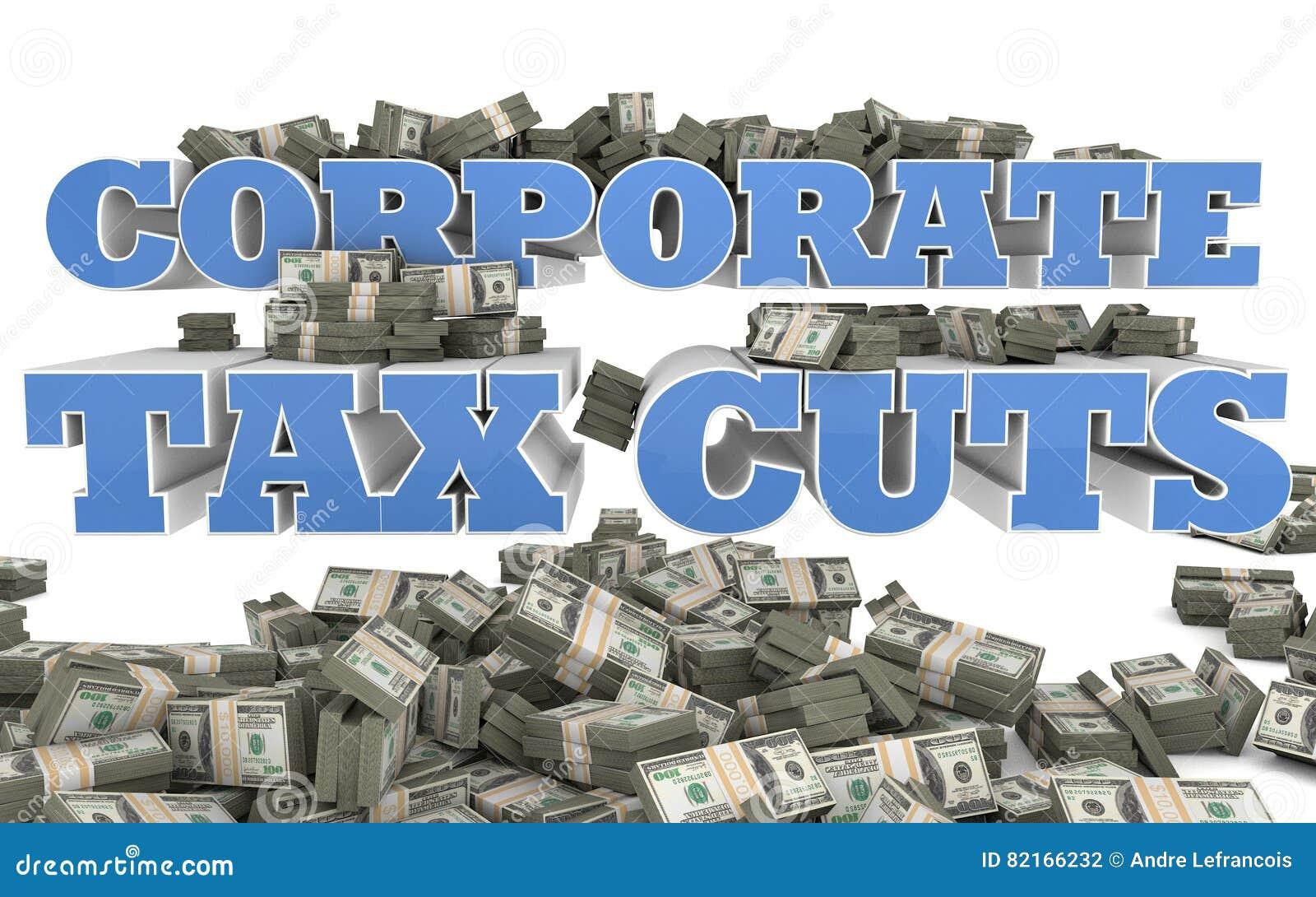 Företags skattesänkningar