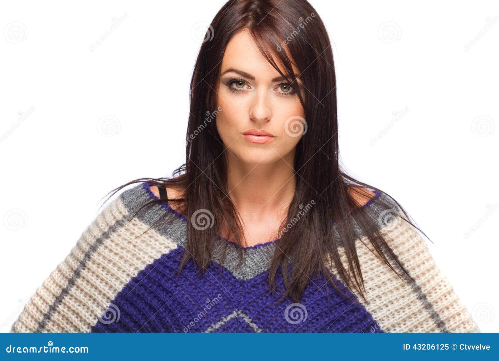 Download Förförisk kvinna fotografering för bildbyråer. Bild av elegantt - 43206125