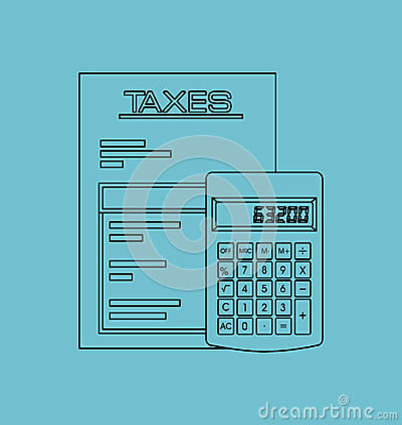 Förfallen design för skatter