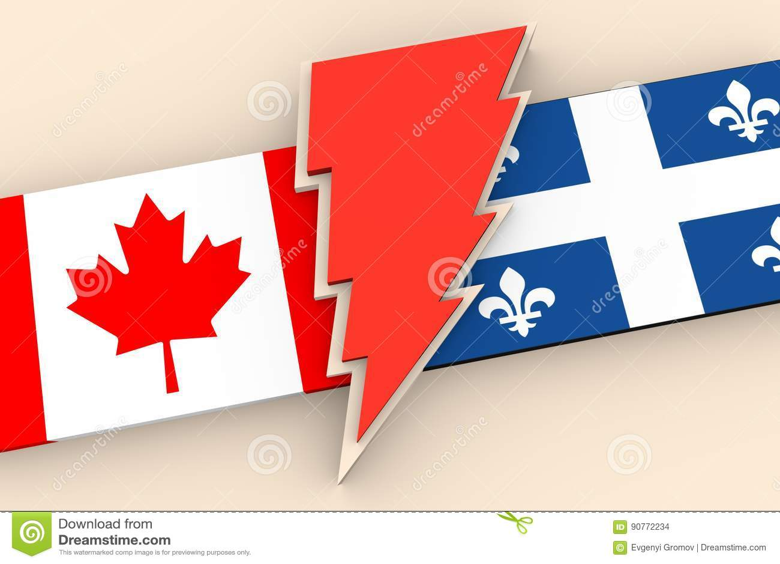 Förhållanden mellan Kanada och Quebec