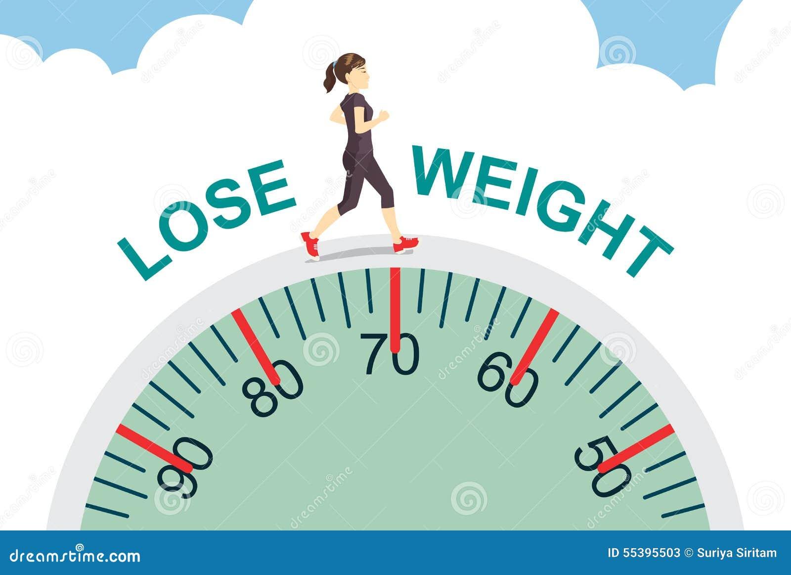 Förlora vikt med att jogga