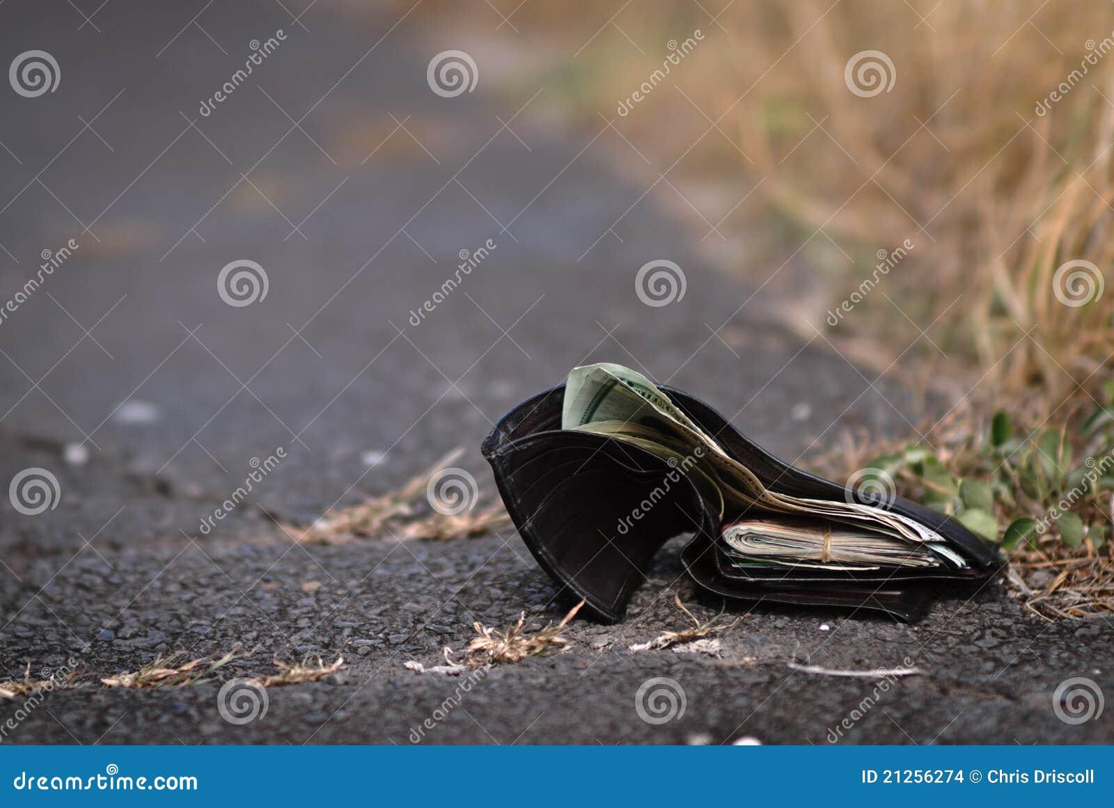 Förlorad plånbok