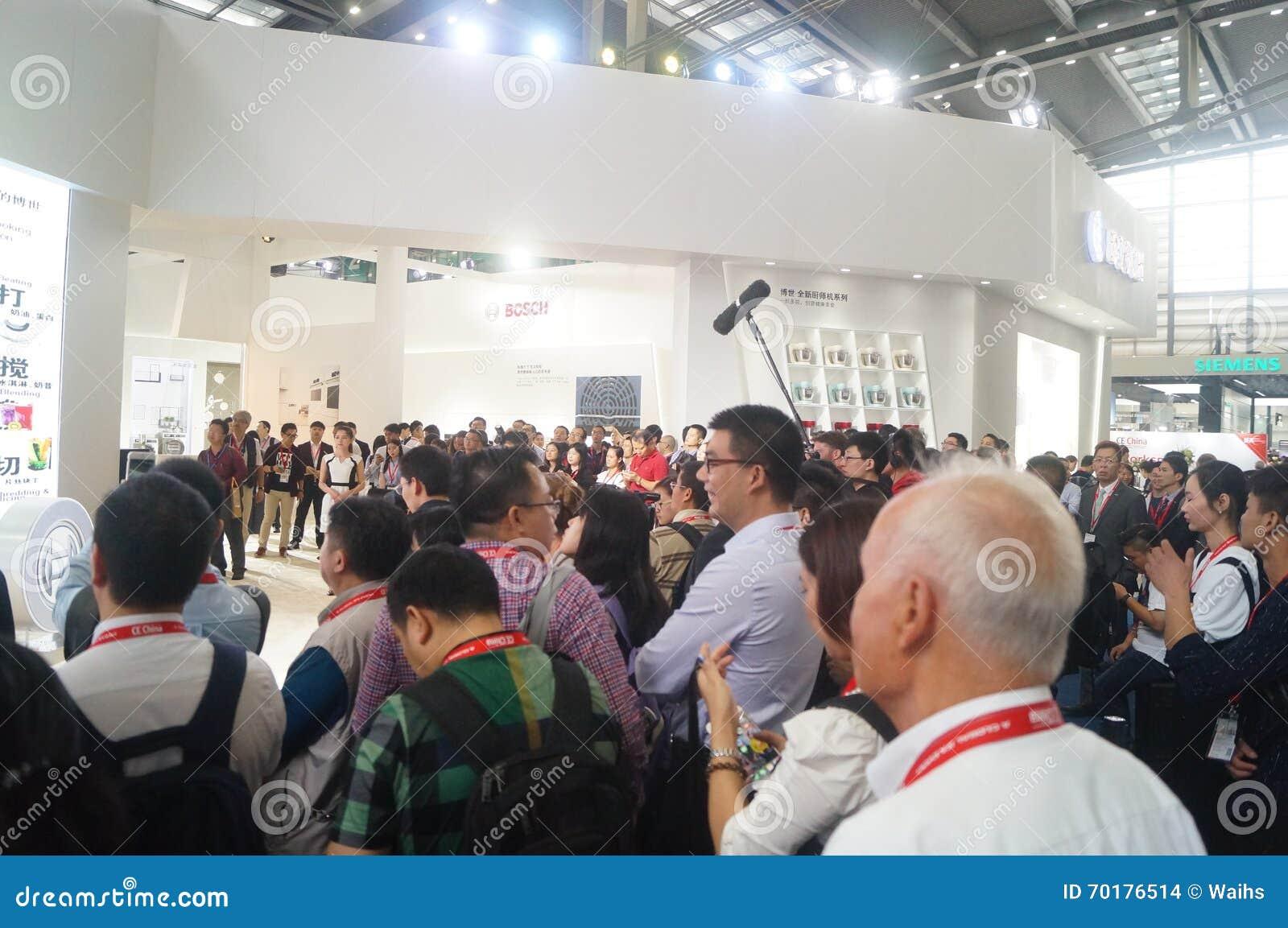 Försäljningar för utställning för hem- anordningar för BOSCH