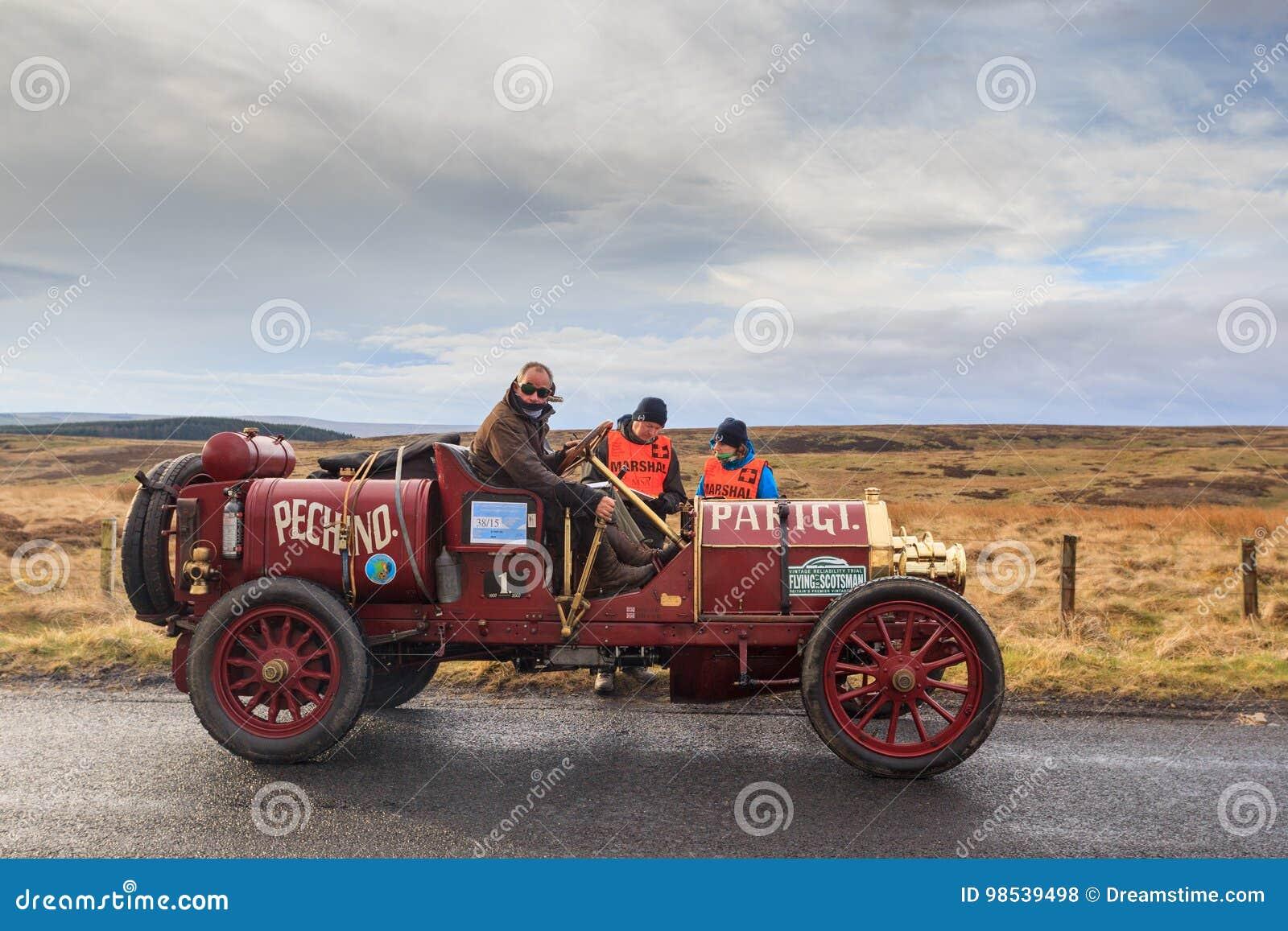 Försök för tappningbilpålitlighet till och med Northumberland