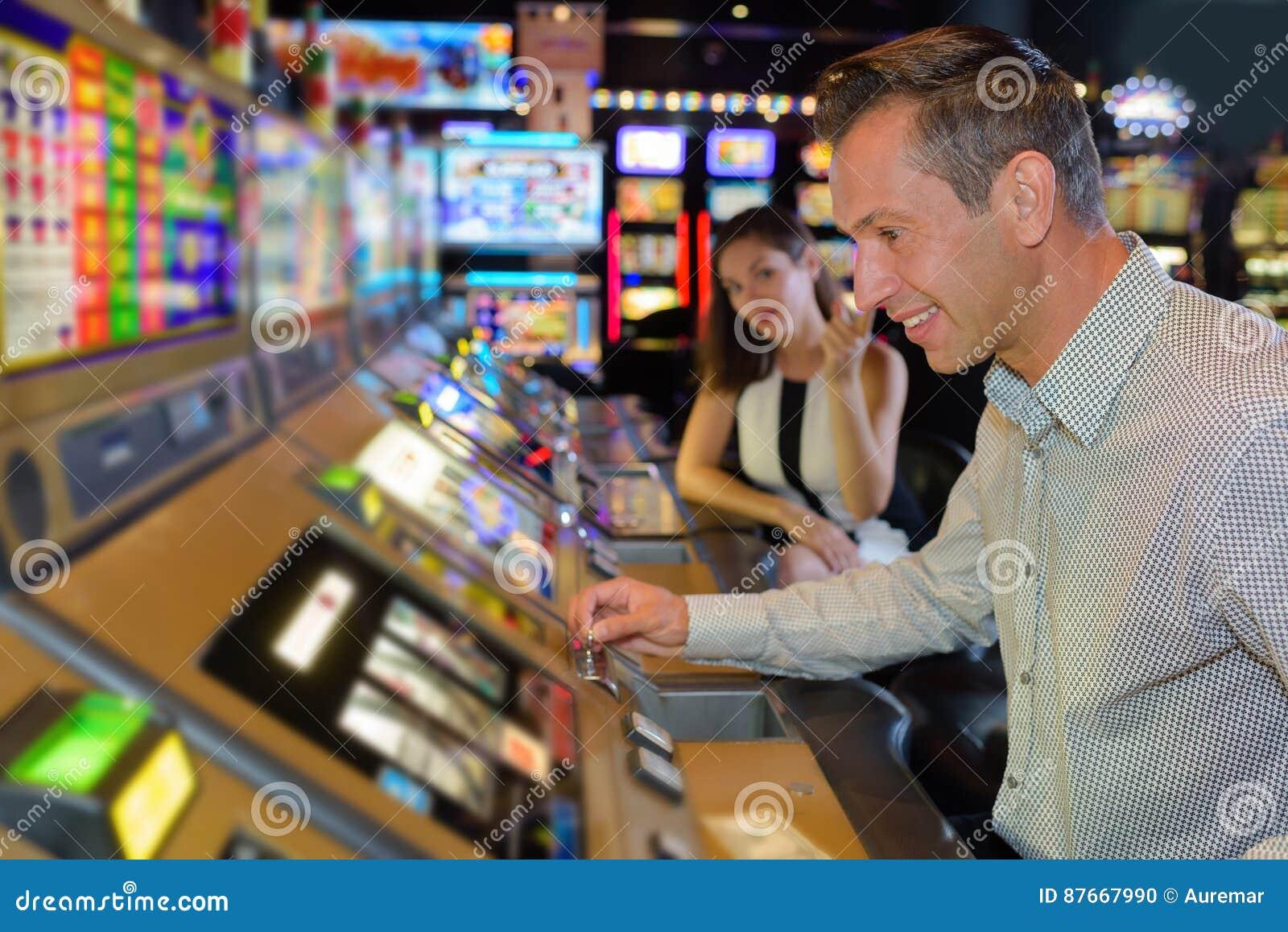 Försökande lycka i kasino