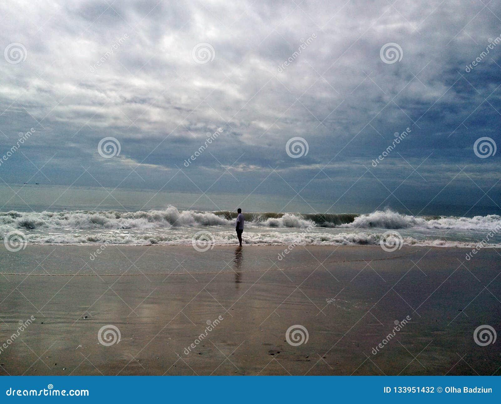 Försiktiga varma havvågor