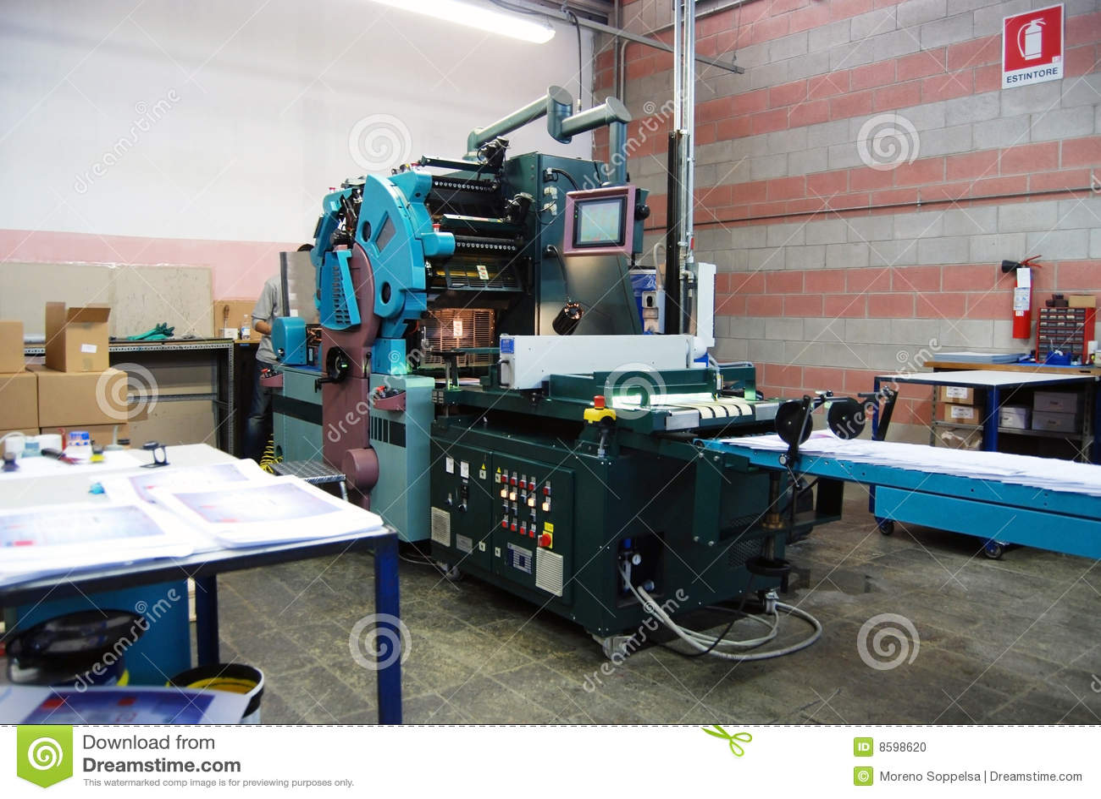 Förskjuten pressprinting