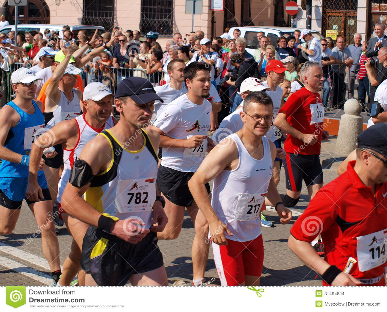 Första Lublin maraton, Lublin, Polen
