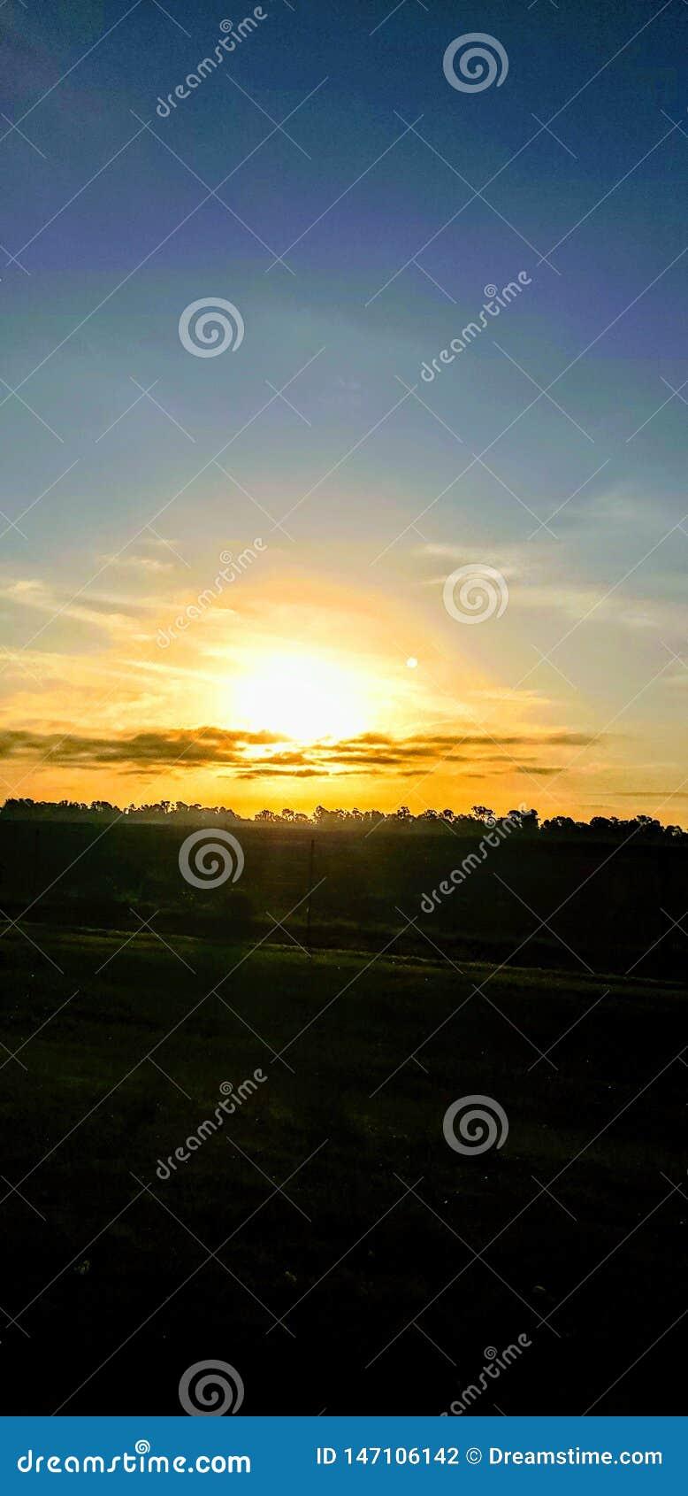 Första soluppgång utan min fader
