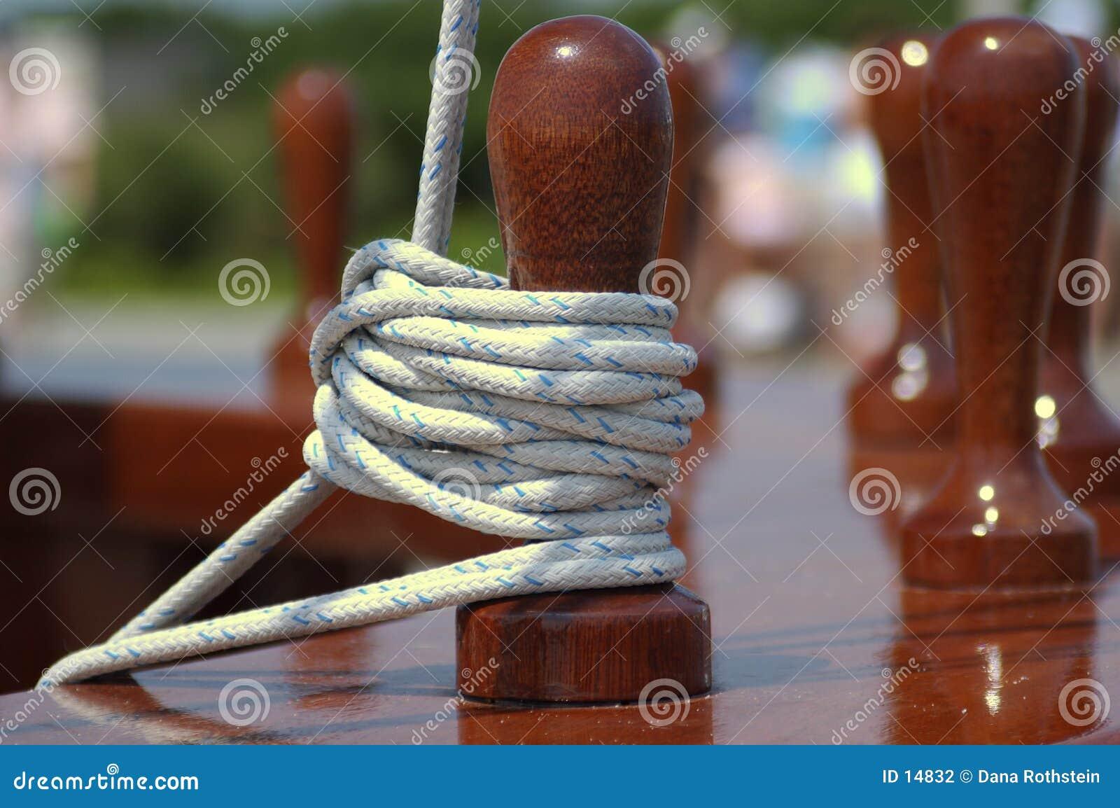 Förtöja rep