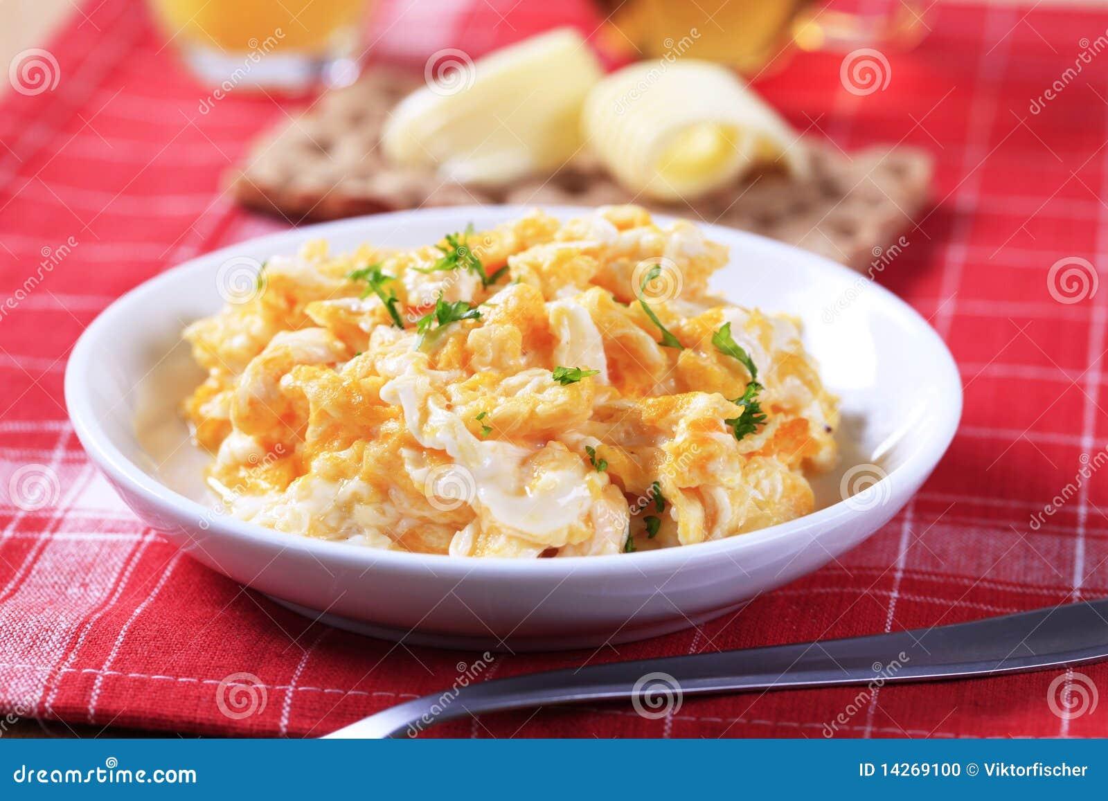 Förvanskade ägg