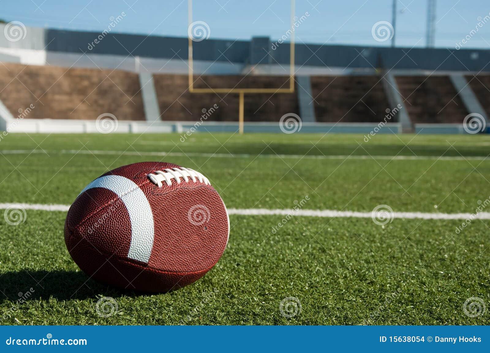 Fútbol americano en campo