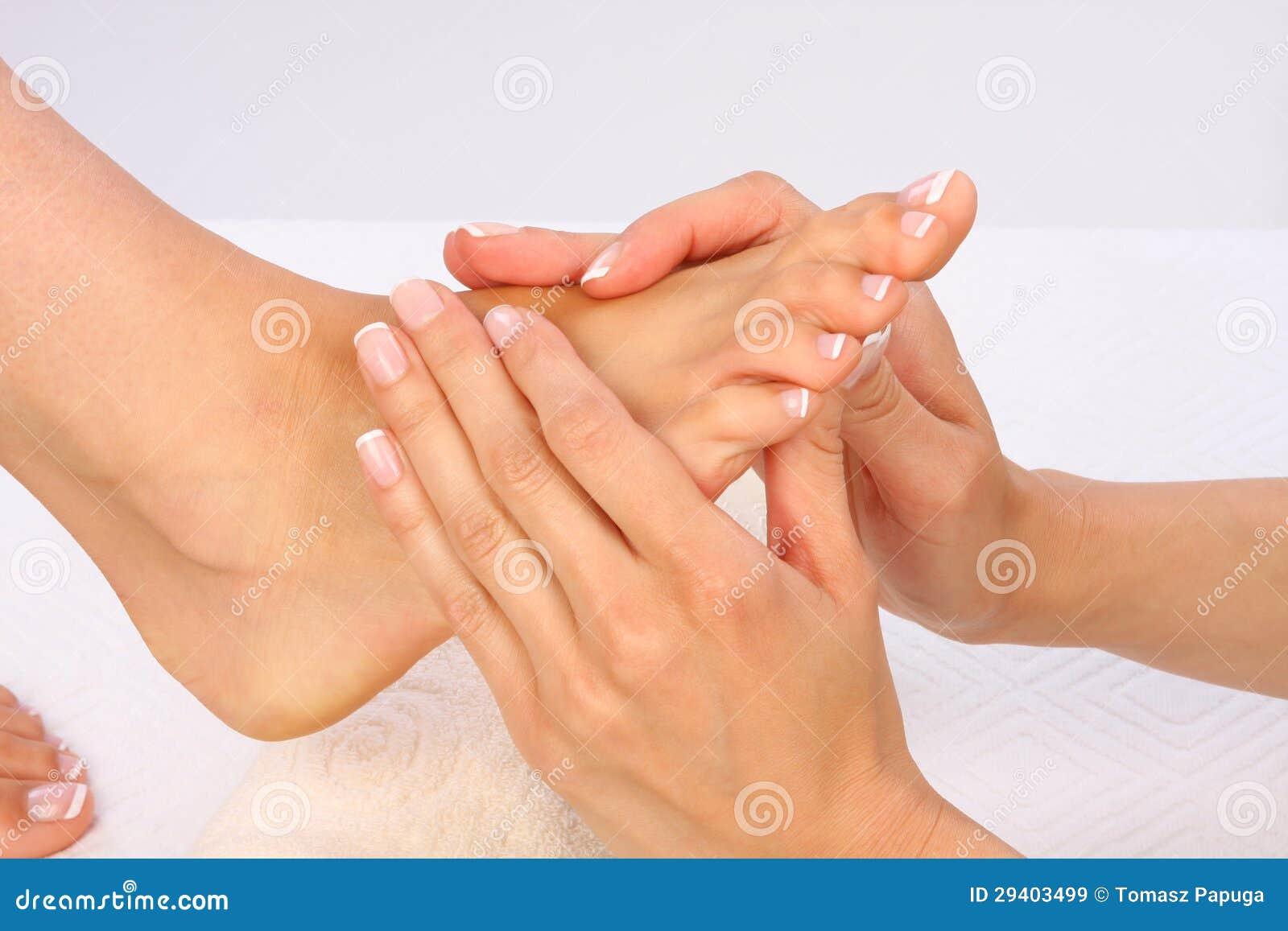 Füße Massage-