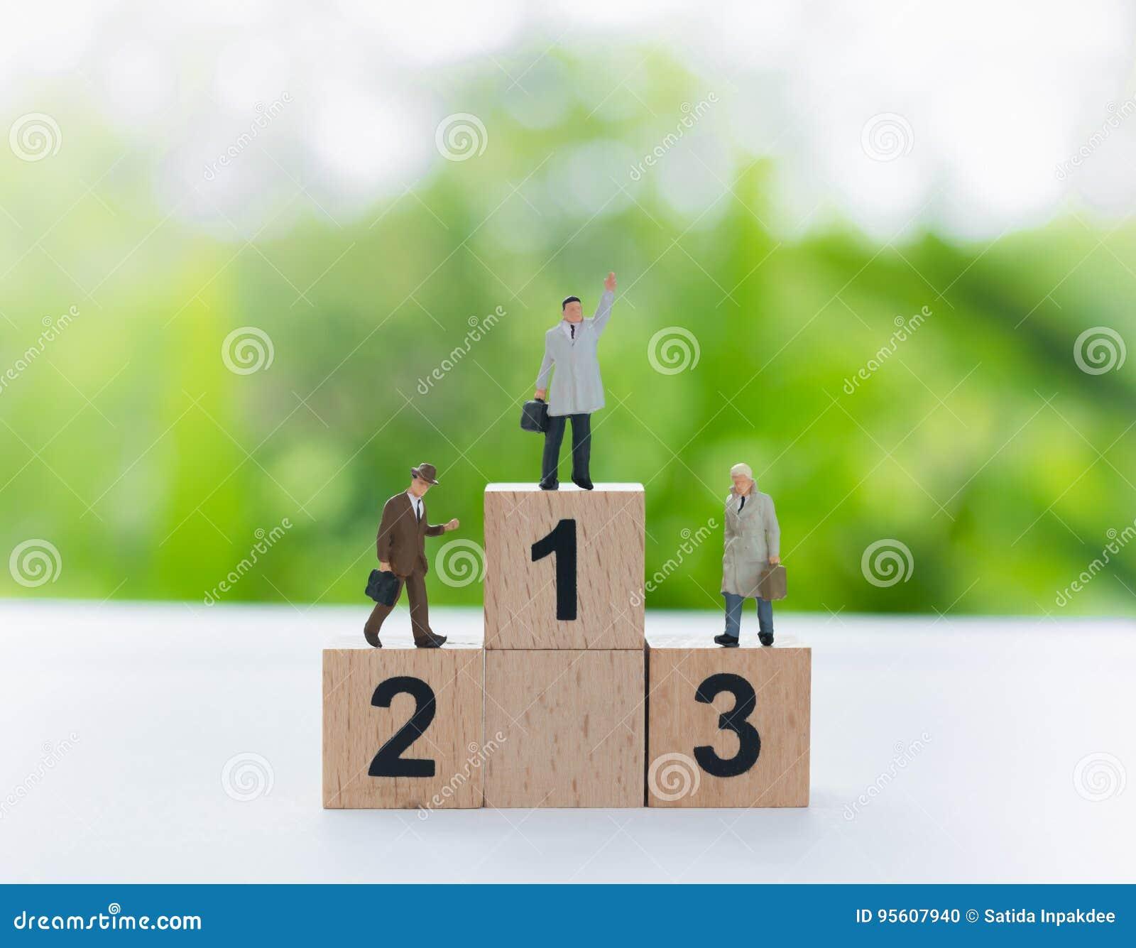 Führender Vertreter der Wirtschaft, victorie und Leistungskonzept