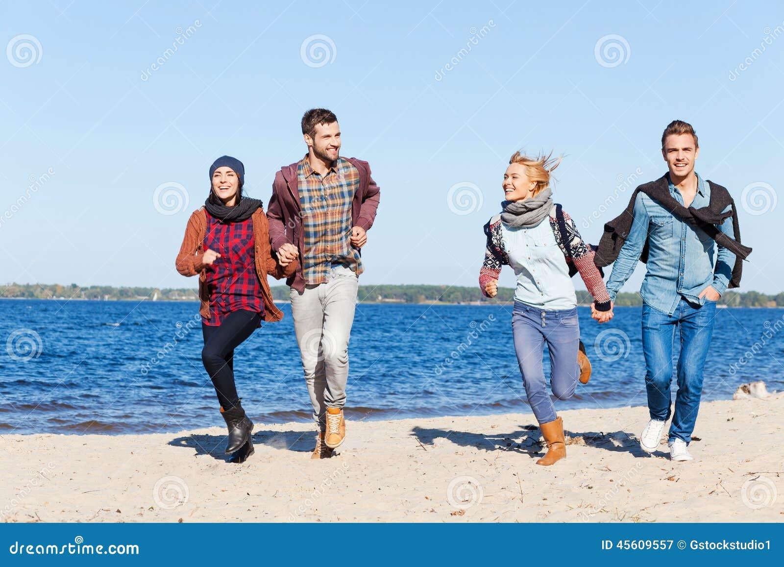 Download Fur Immer Jung Und Frei Stockbild Bild Von Forever Ausdruck