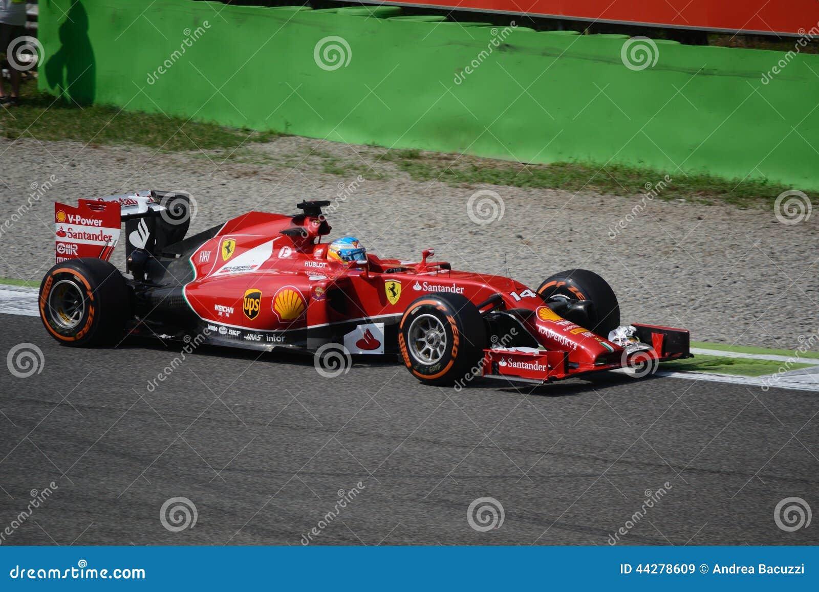 2014 F1 Монца Феррари F14 t - Фернандо Алонсо