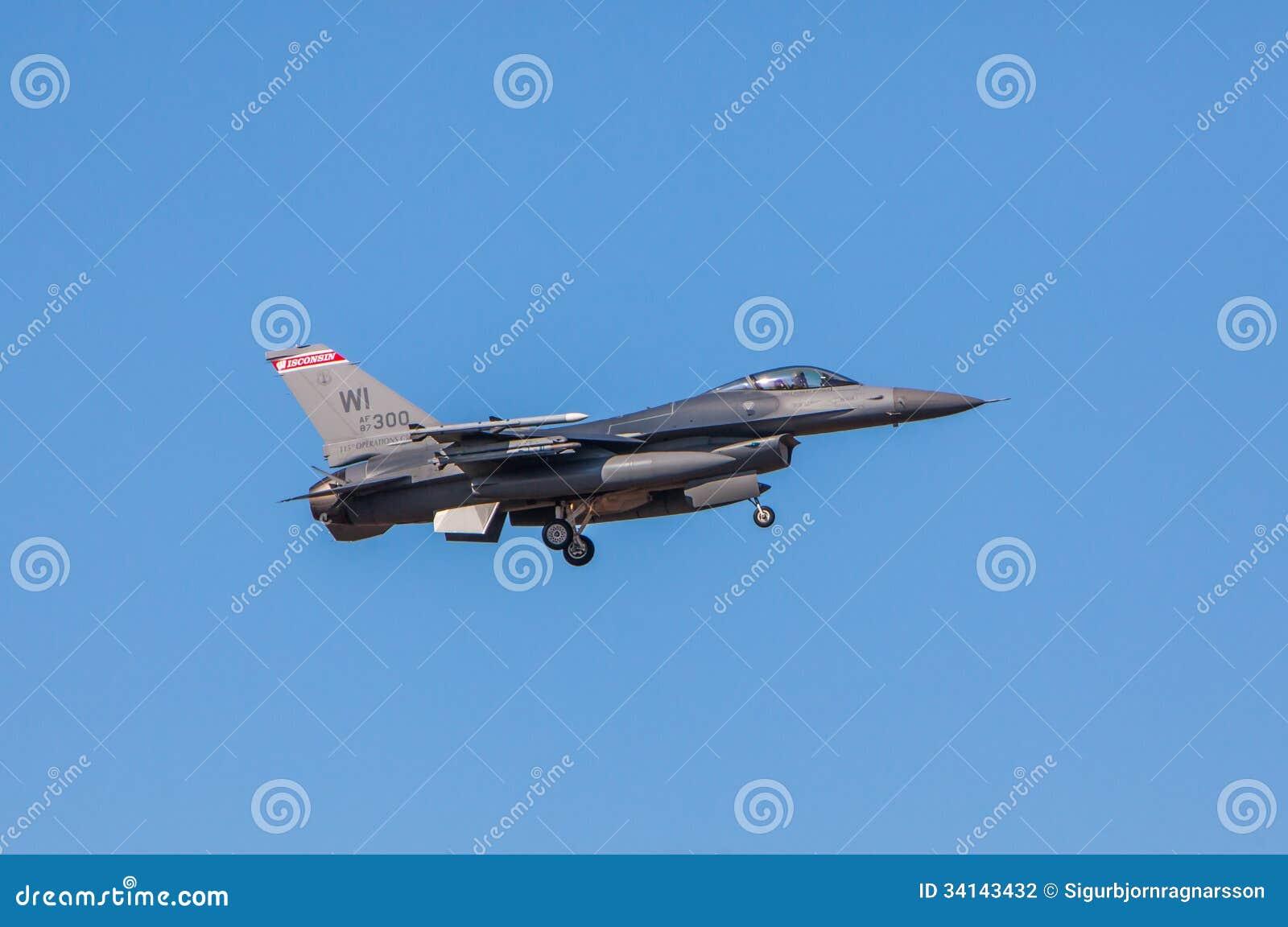 F-16战斗机猎鹰