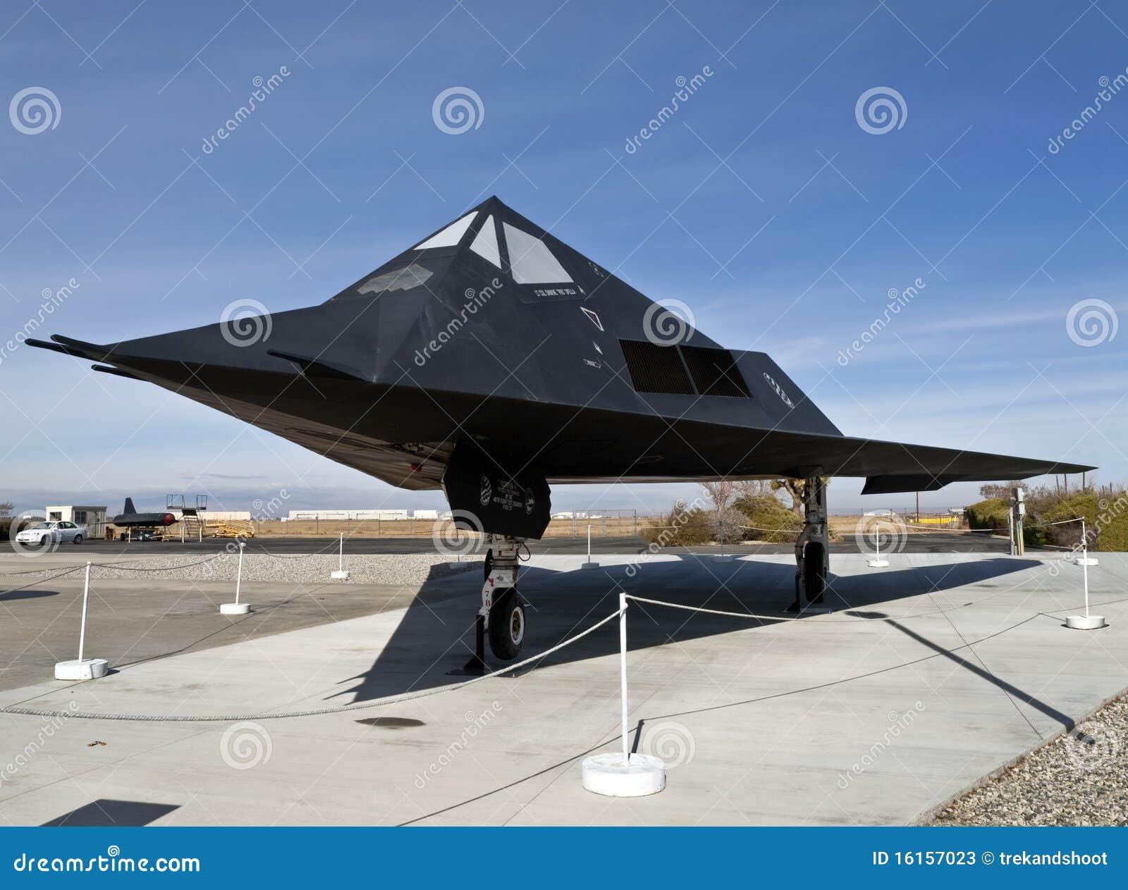 F-117 het Vliegtuig van het museum