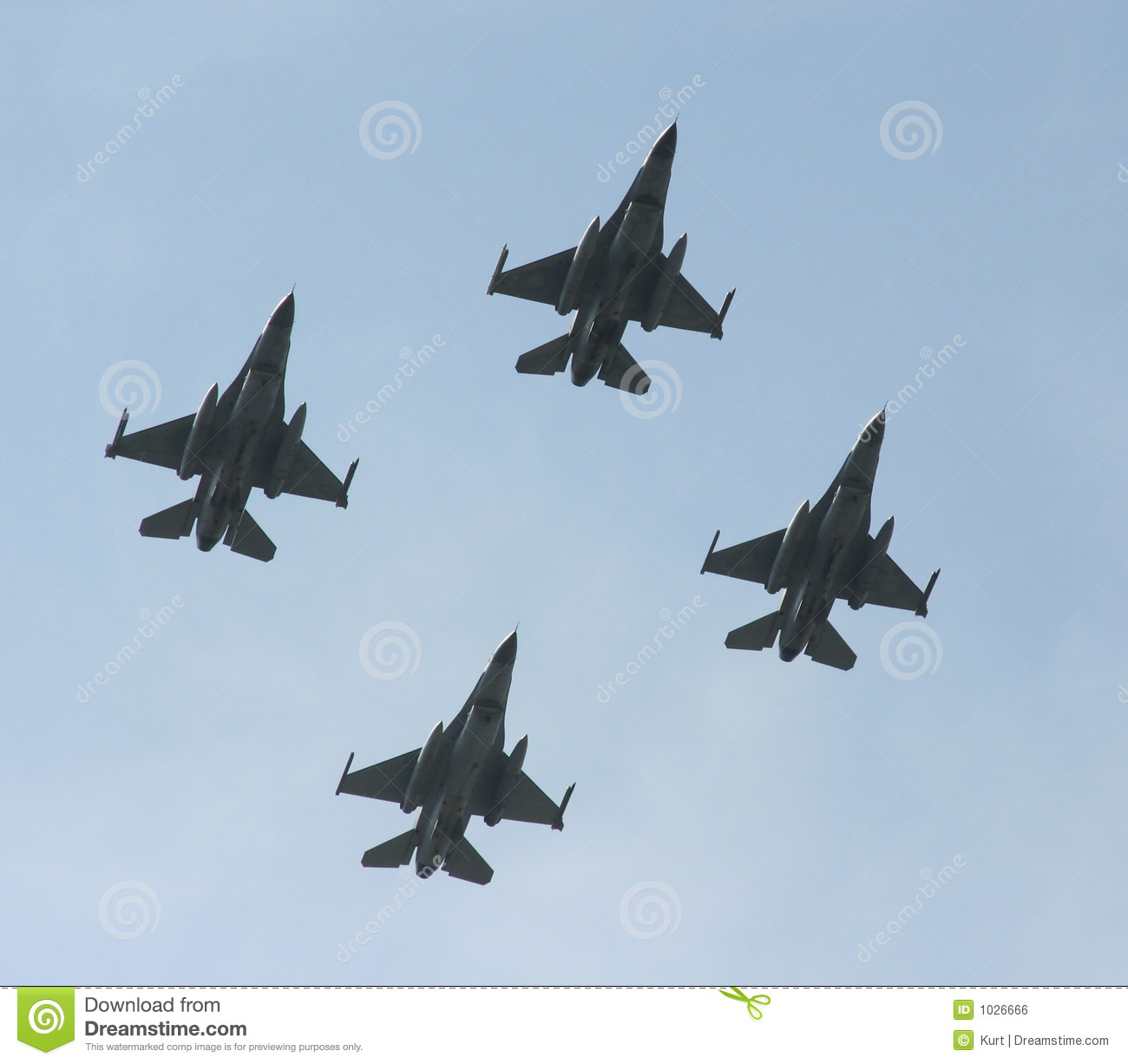 F-16 jet fighters