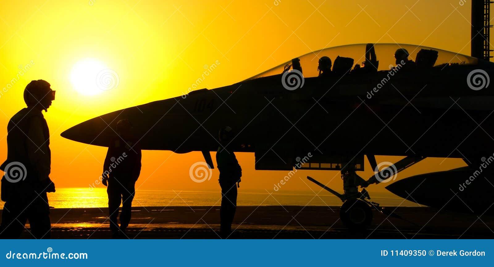 F-18 Super Hornet Sunset Launch