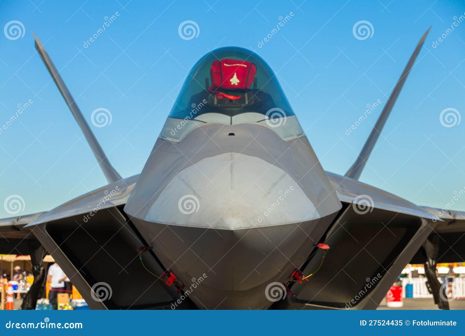F-22 Raptor jet airplane
