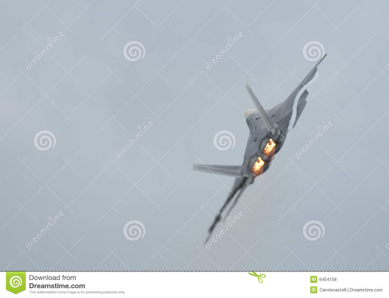 Download F-22 Raptor  turning stock photo. Image of defence, aircraft - 6454158