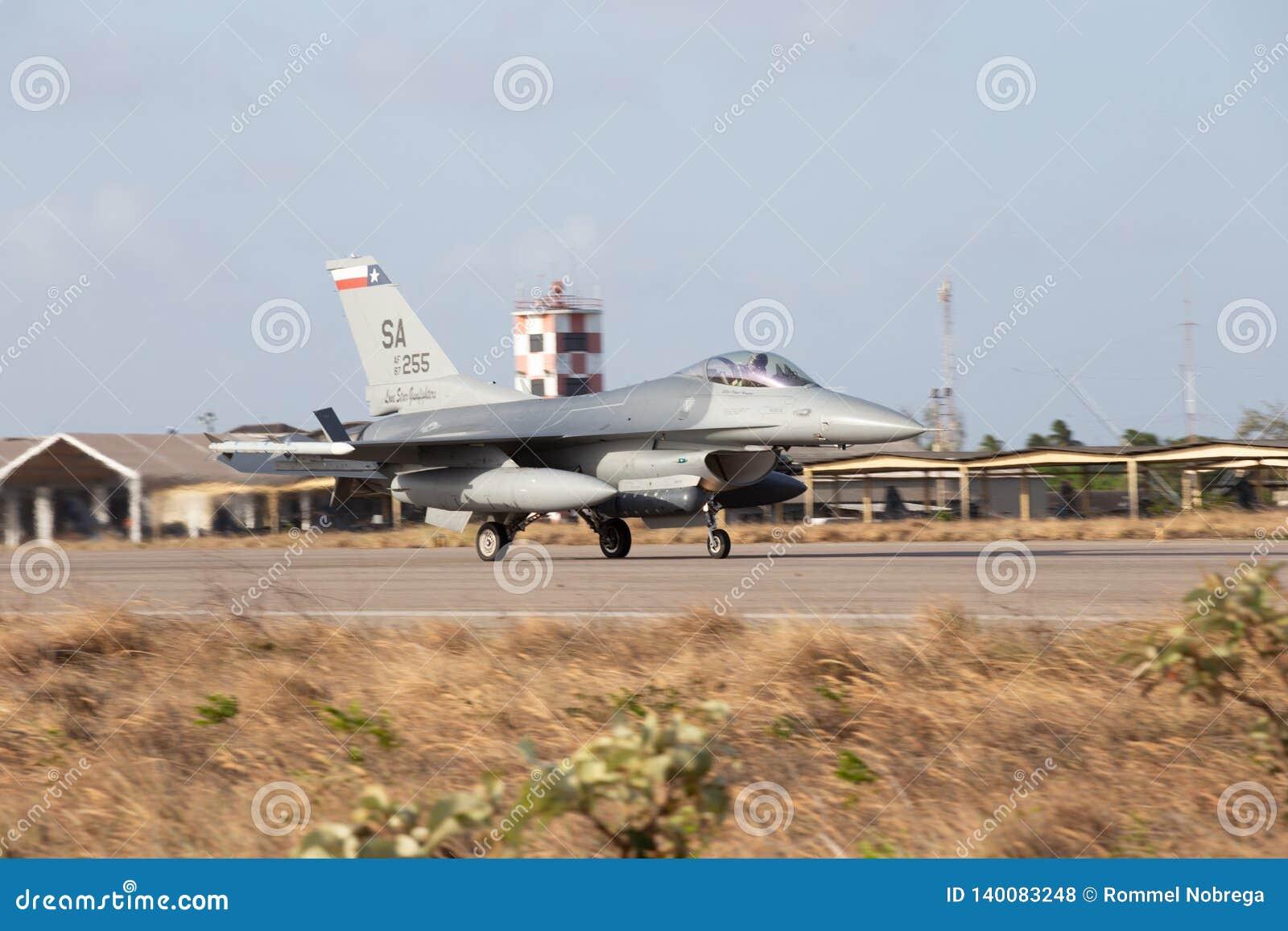 F-16C de l U.S. Air Force