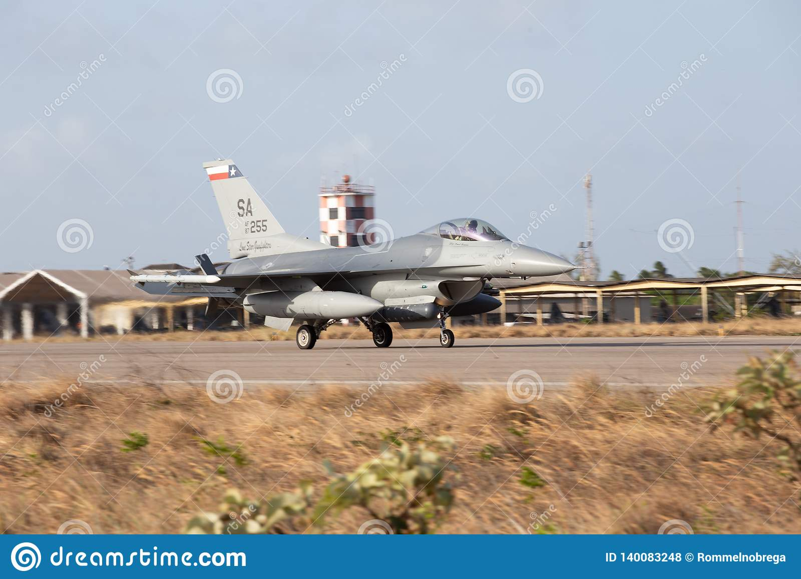 F-16C del U.S.A.F.