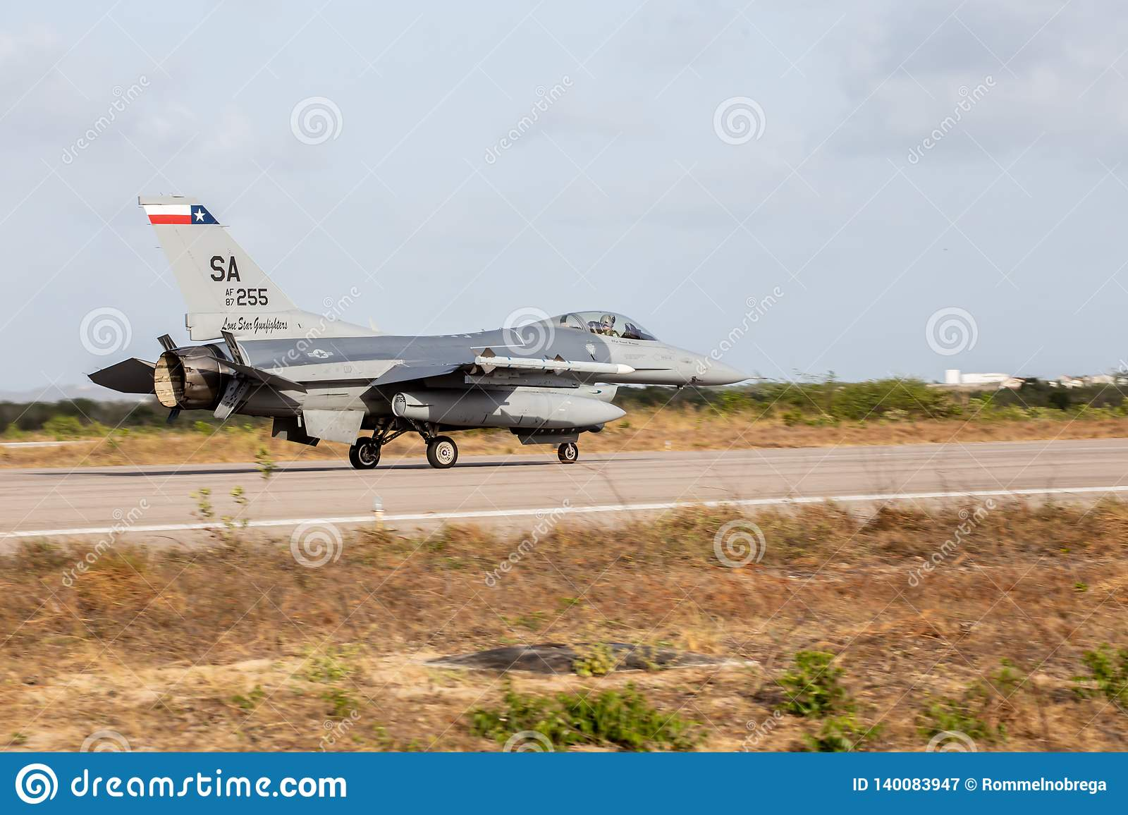 F-16C of the USAF