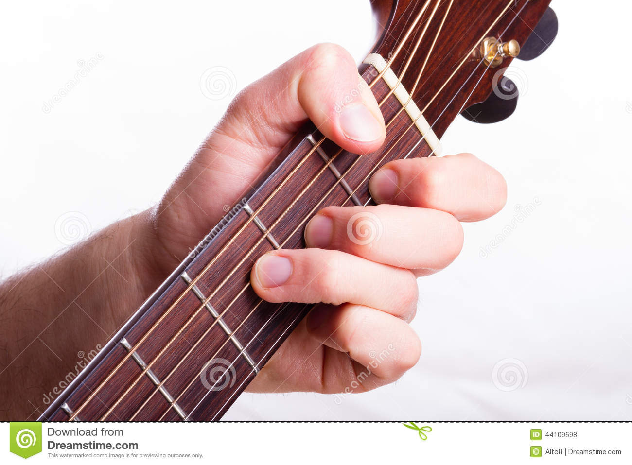 F Major Chord Stock Photo Image Of Musician Perform 44109698