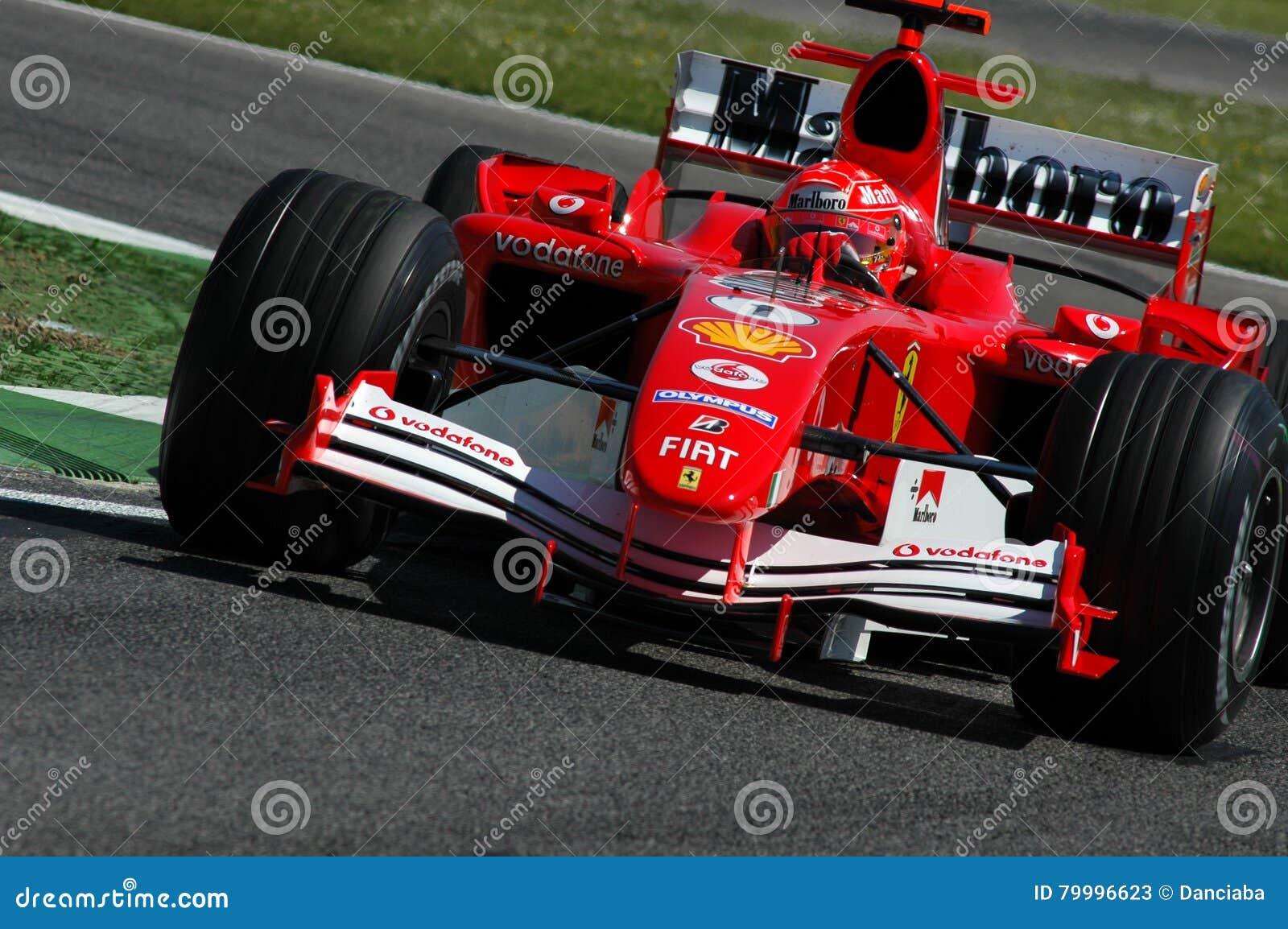 F1 2005 Michael Schumacher Ferrari Redaktionelles Stockfoto Bild Von Gran Marlboro 79996623
