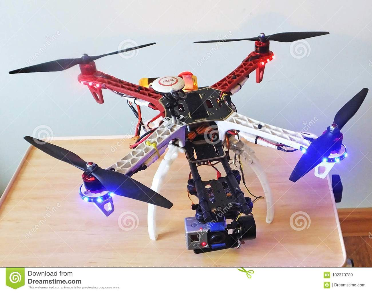 drone ball carrefour