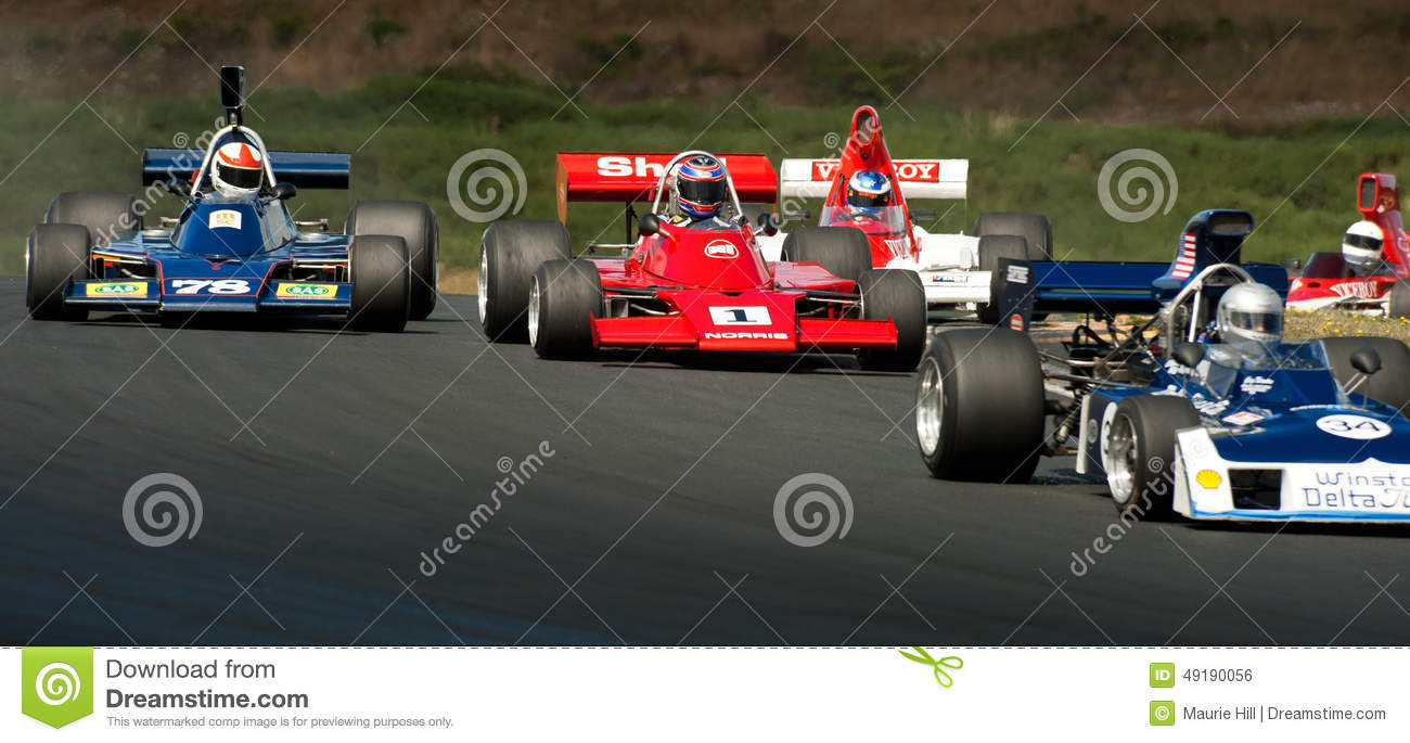 F5000 Racing Action Editorial Photo Image 49190056