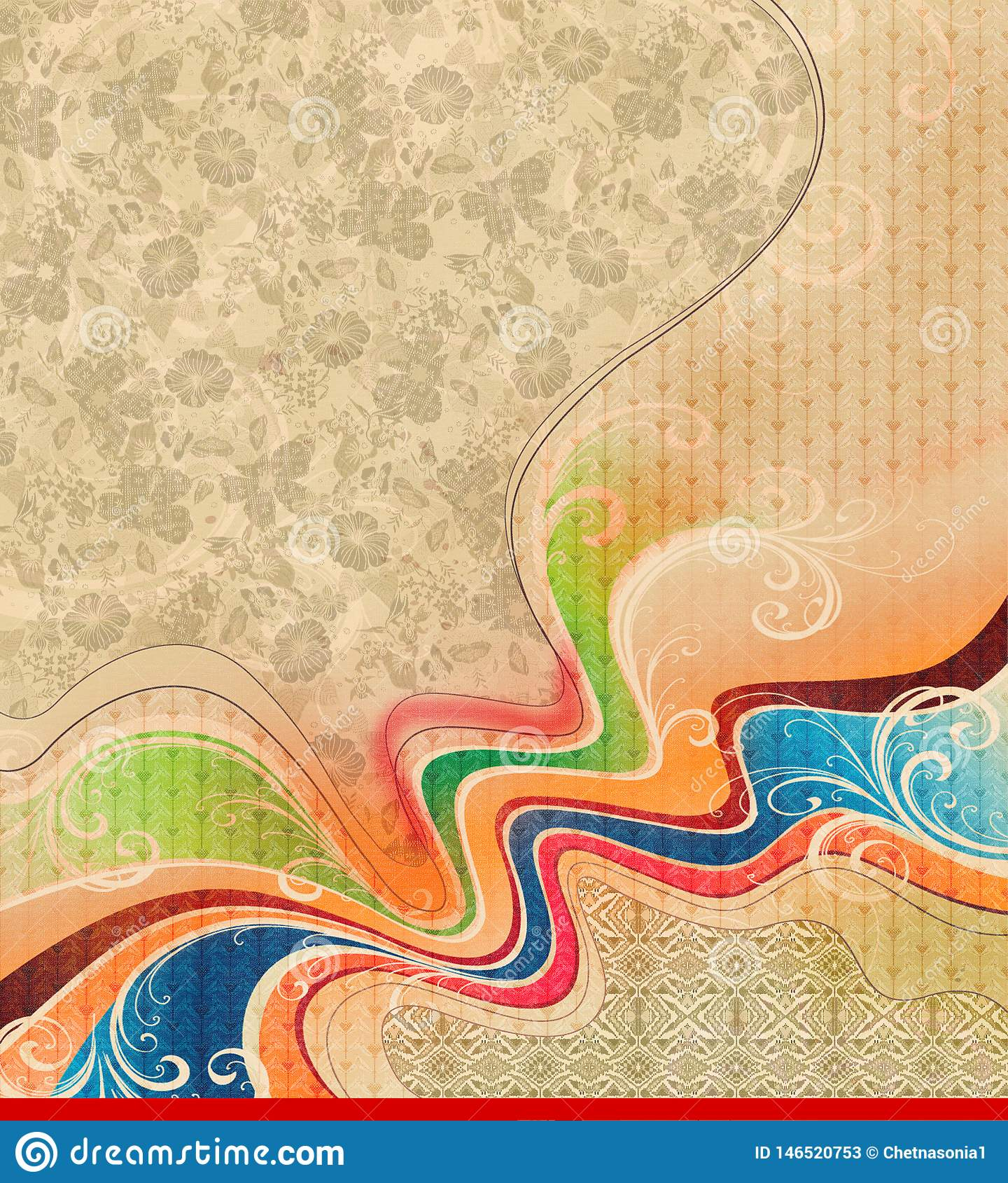 F?rgrik textur f?r abstrakt bakgrund