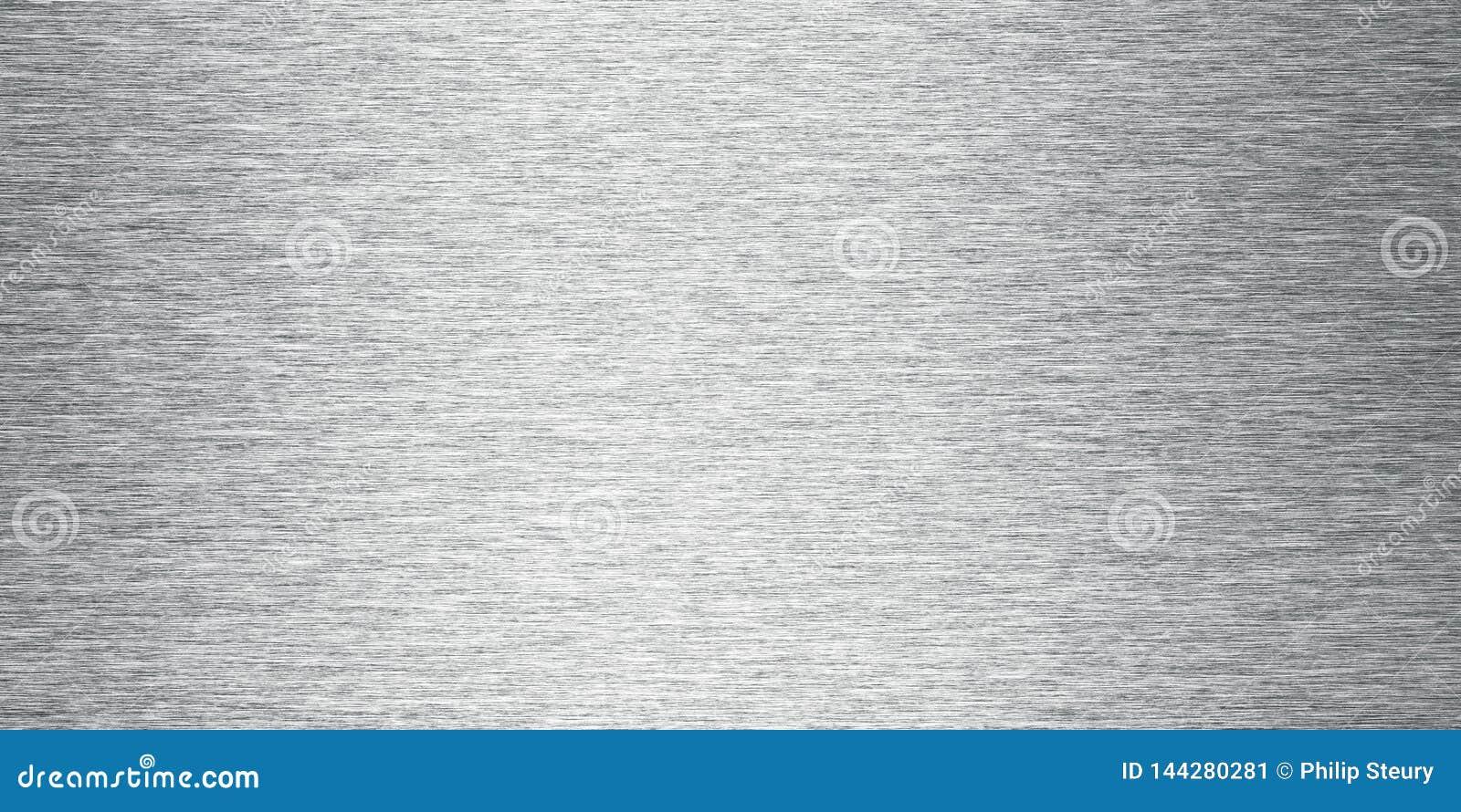 F?rsilvra borstat bel?gger med metall bakgrundsbanret
