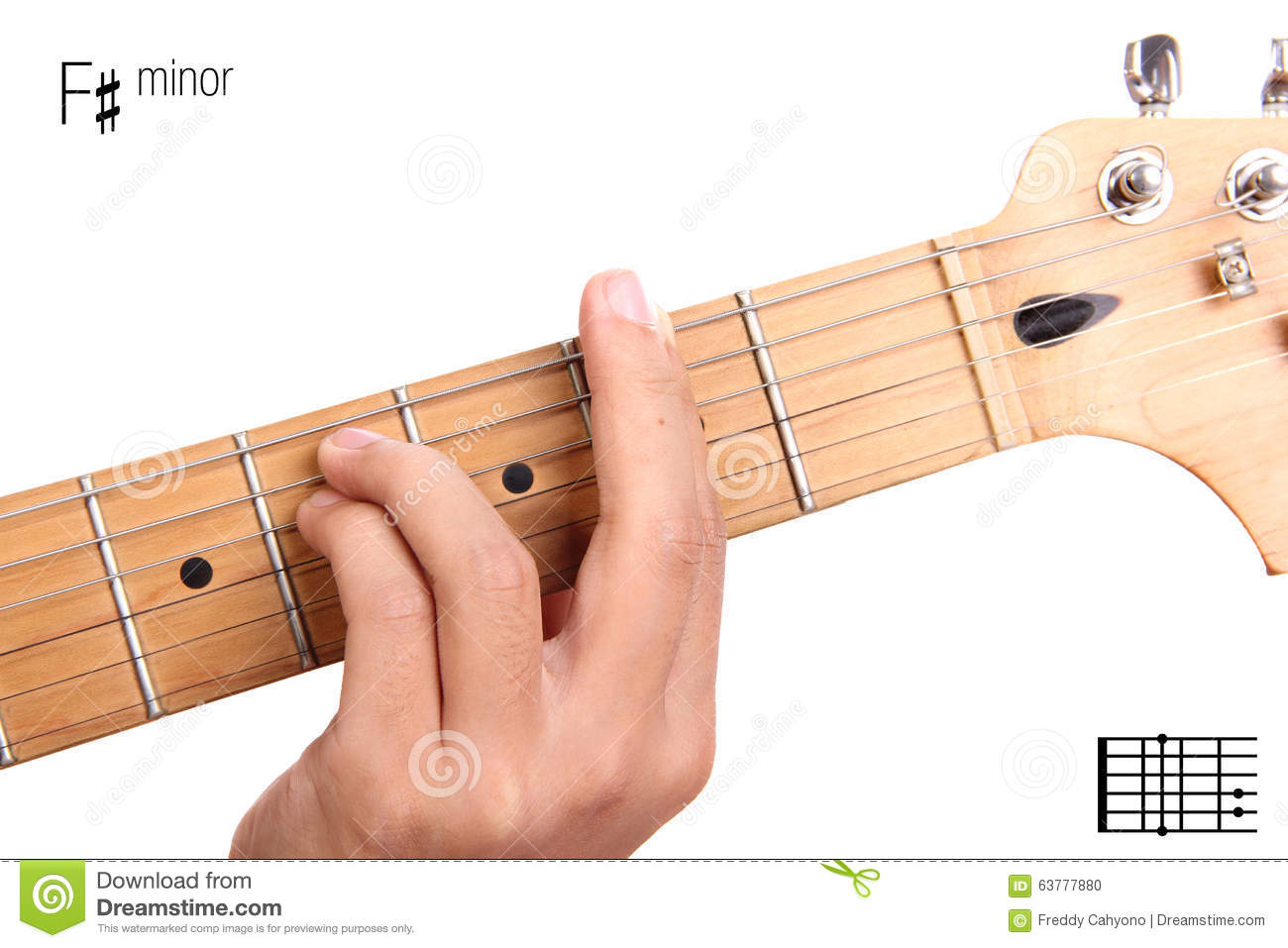 How to Play the F Chord on Guitar  place your middle finger on the G string on the  The finger position used for the F major barre chord is an example of