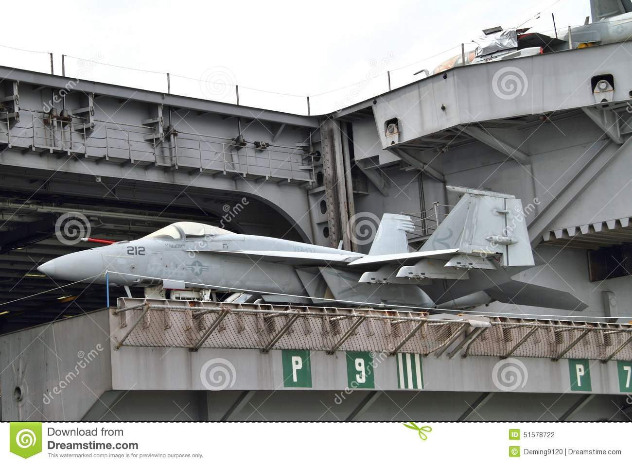Aircraft Carrier Editorial Photography Image 51578722