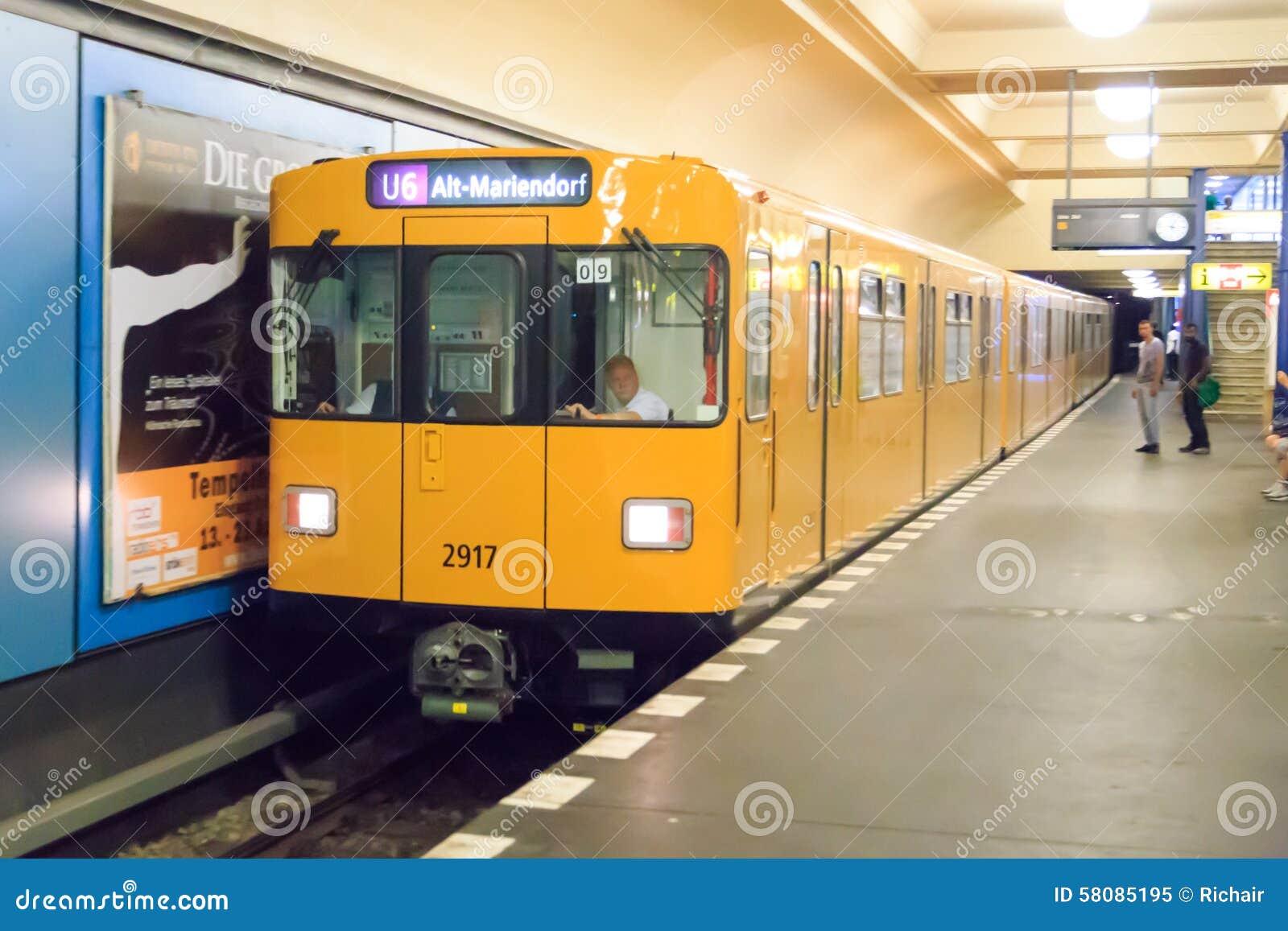 F-tipo tren de Berlín del metro