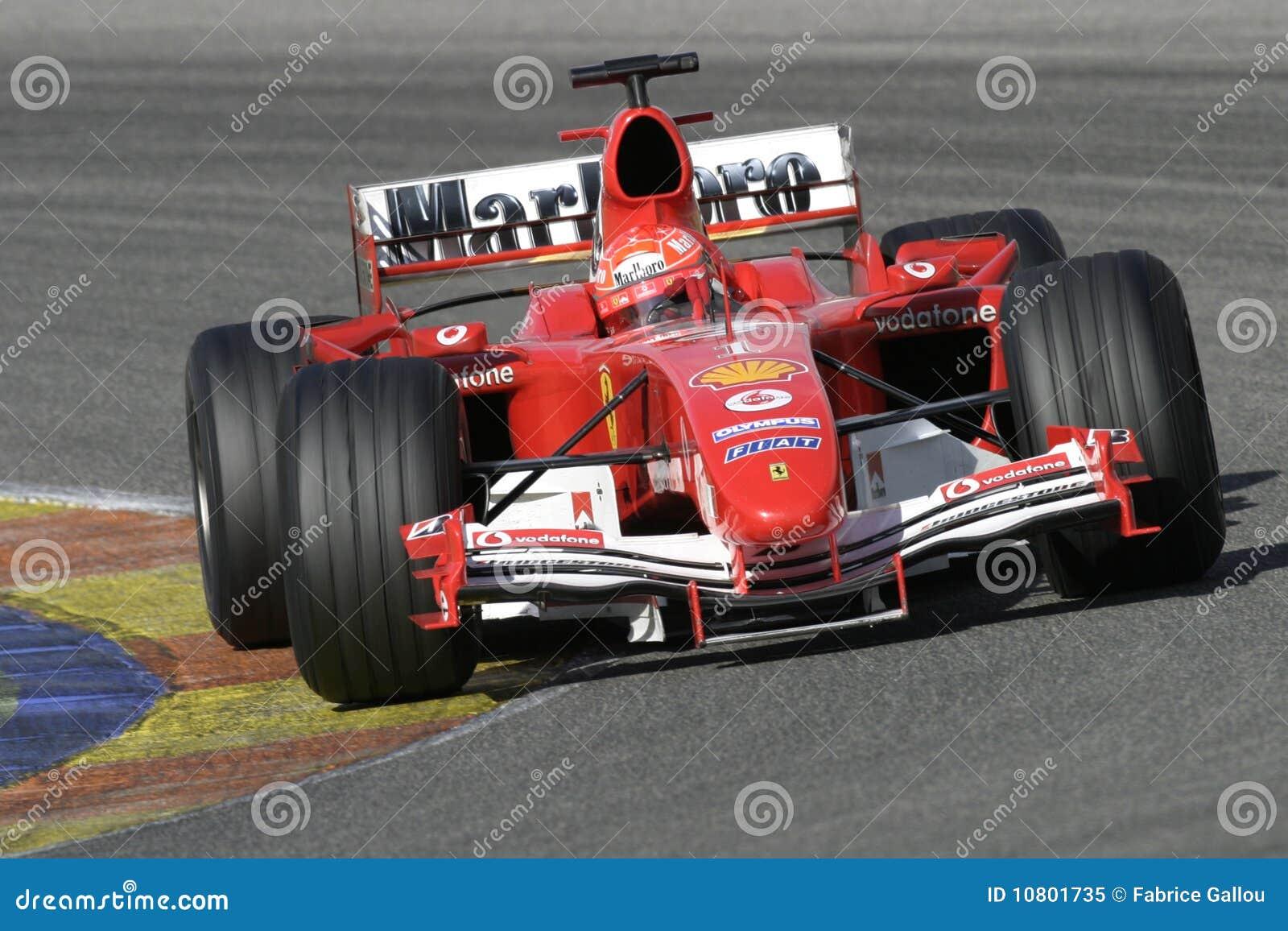 F1 2005 Michael Schumacher Ferrari Redaktionelles Bild Bild Von Auto Ferrari 10801735
