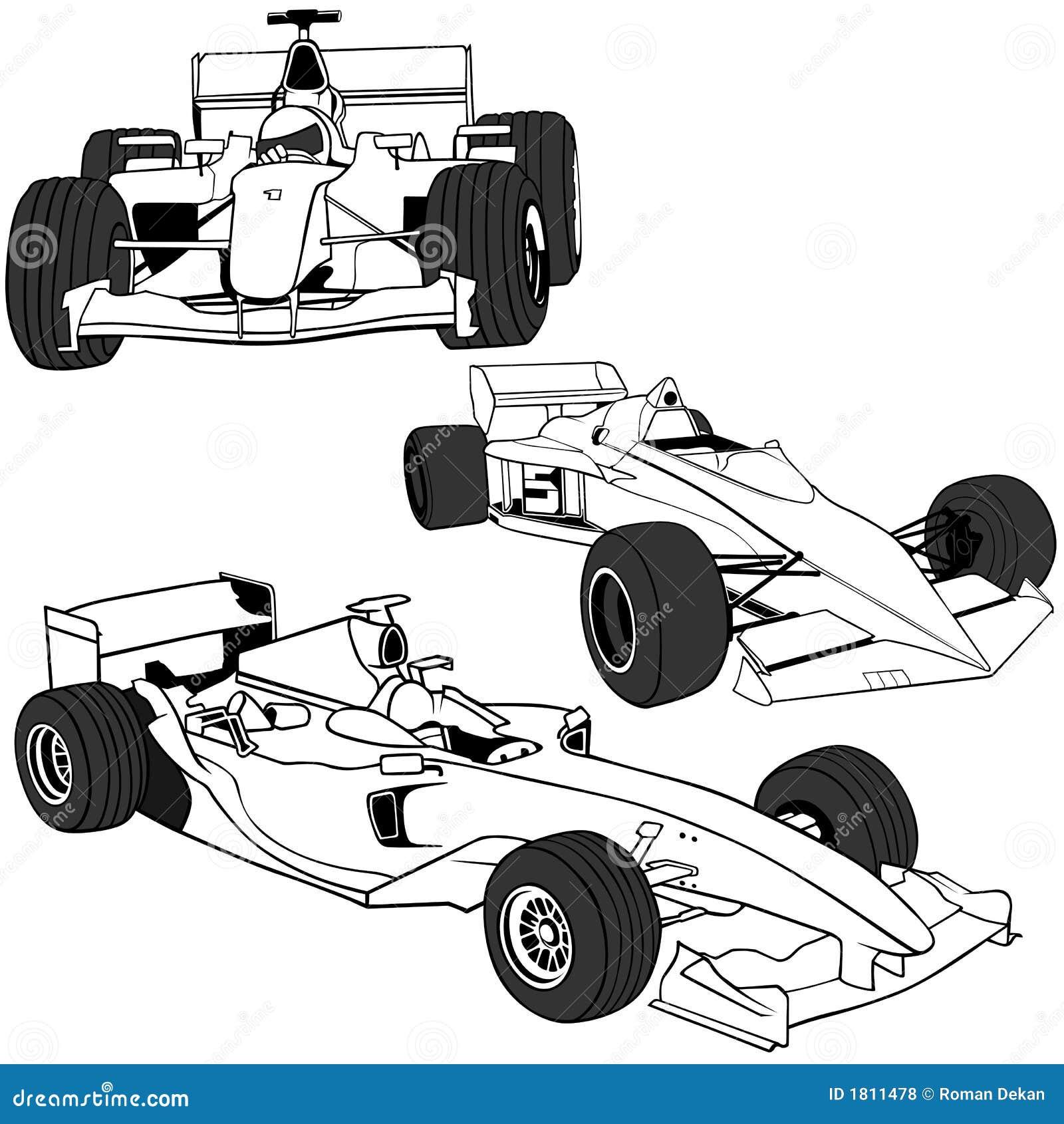 F1 Auto Vol1 Royalty Free Stock Photos