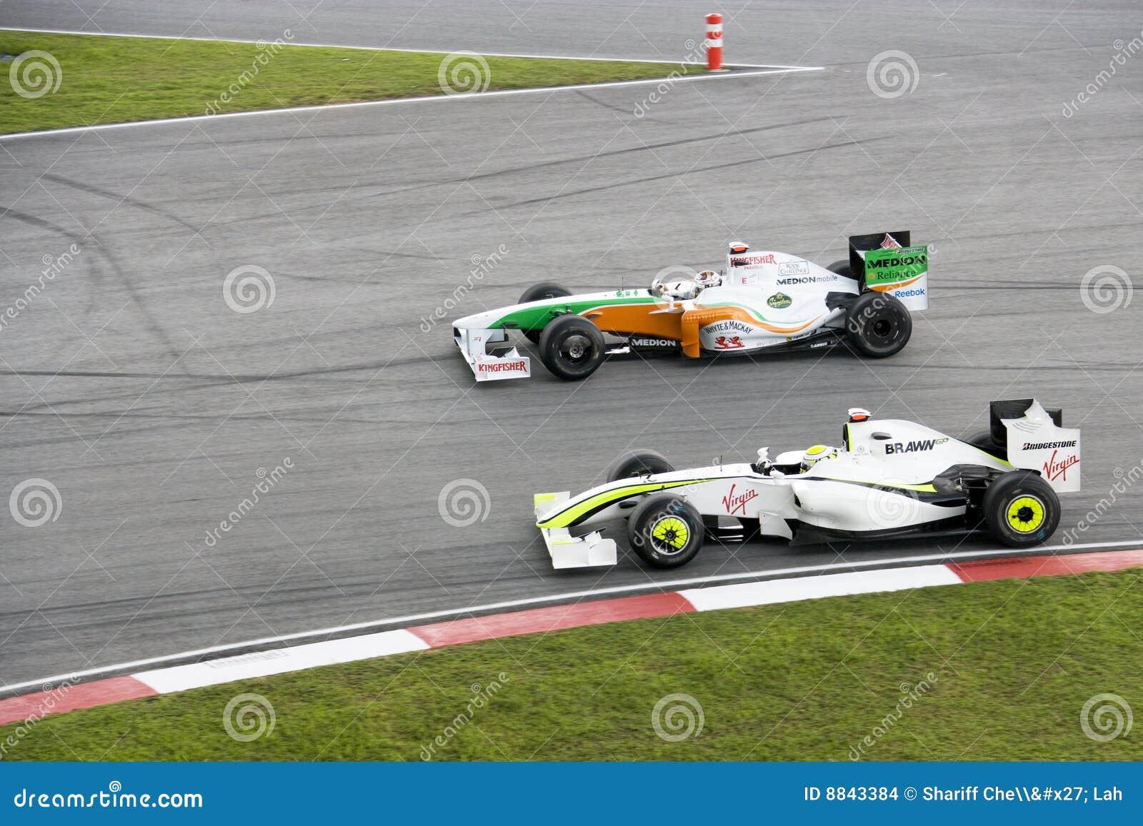 F1 que compete 2009 - alcanç a ação