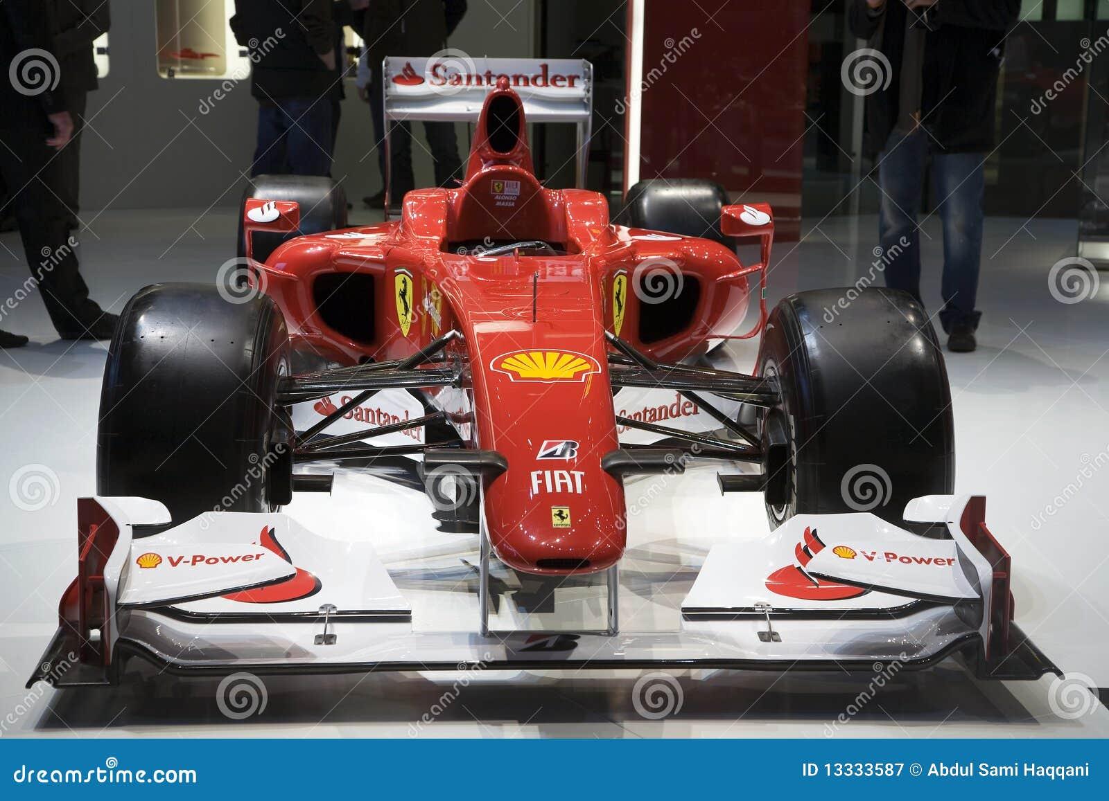 F10 formuła jeden Ferrari