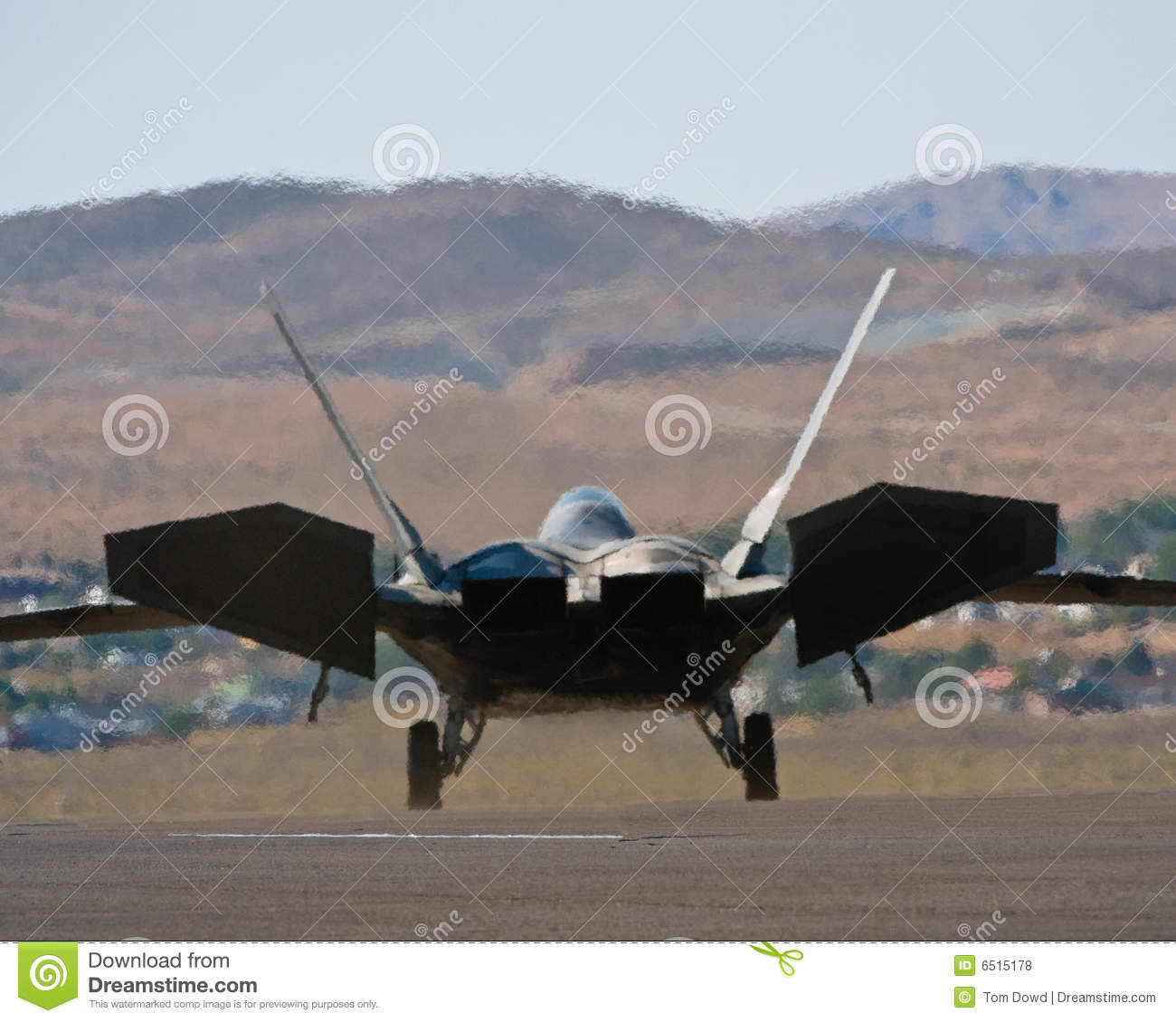 Download F22 Raptor jet fighter stock photo. Image of fast, technology - 6515178