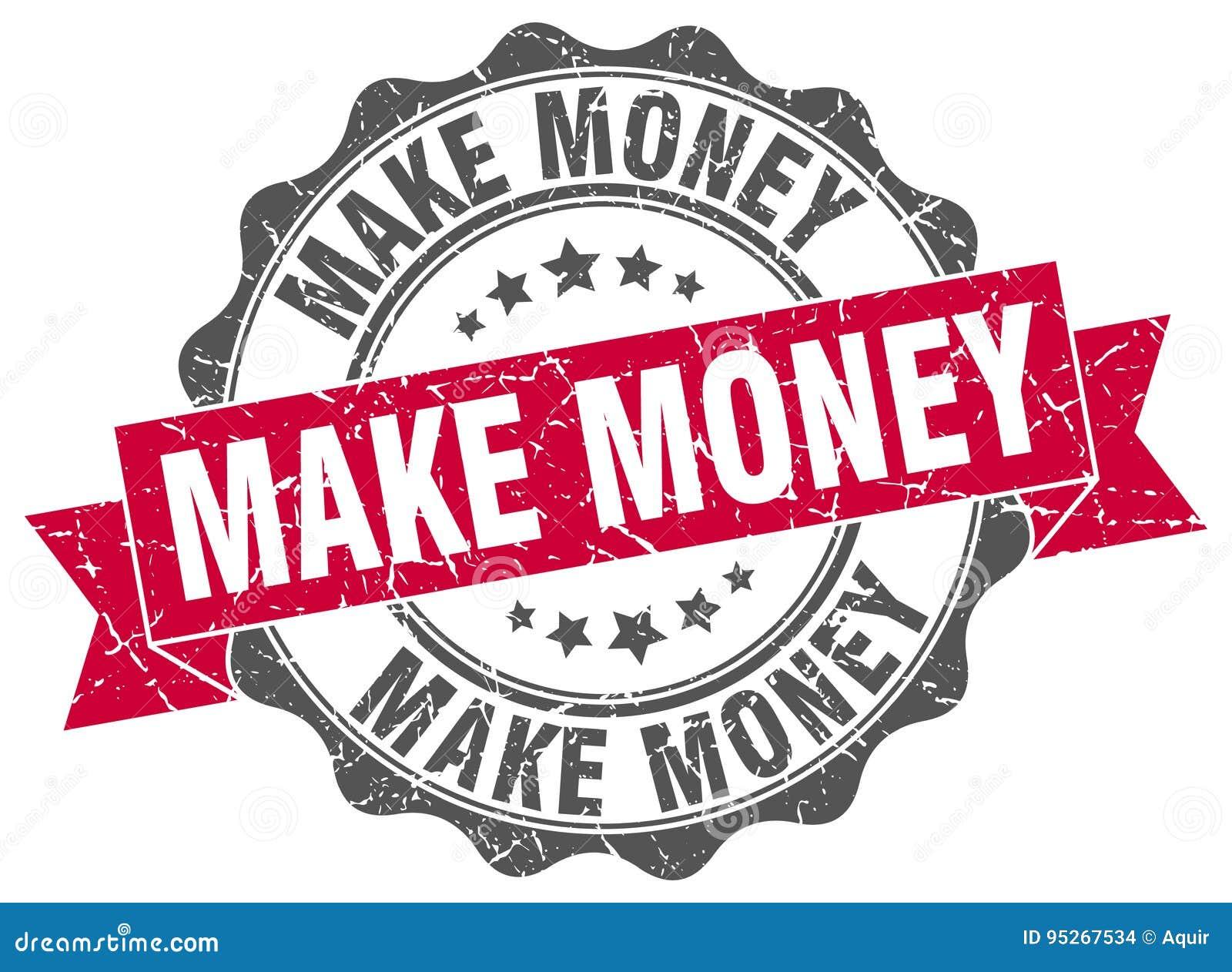 Faça o dinheiro carimbar