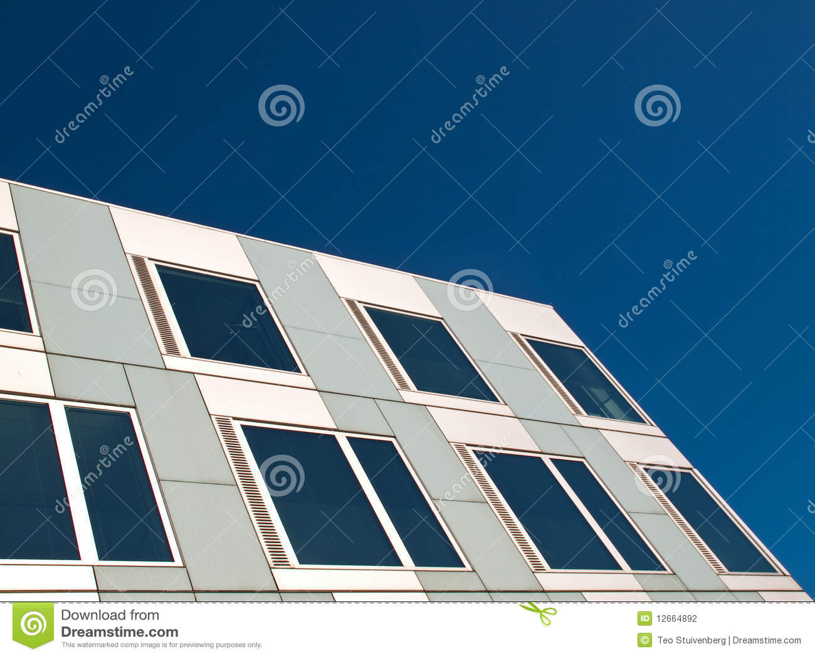 Façade Blanche Et Grise Photo Stock Image Du Gris