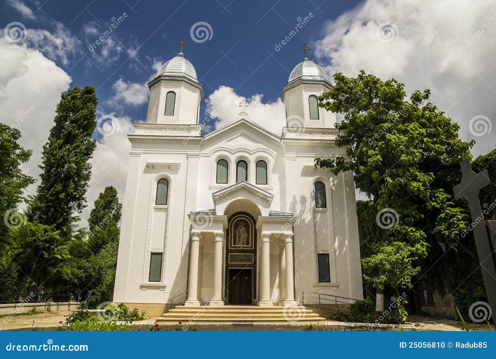 Façade d église chrétienne