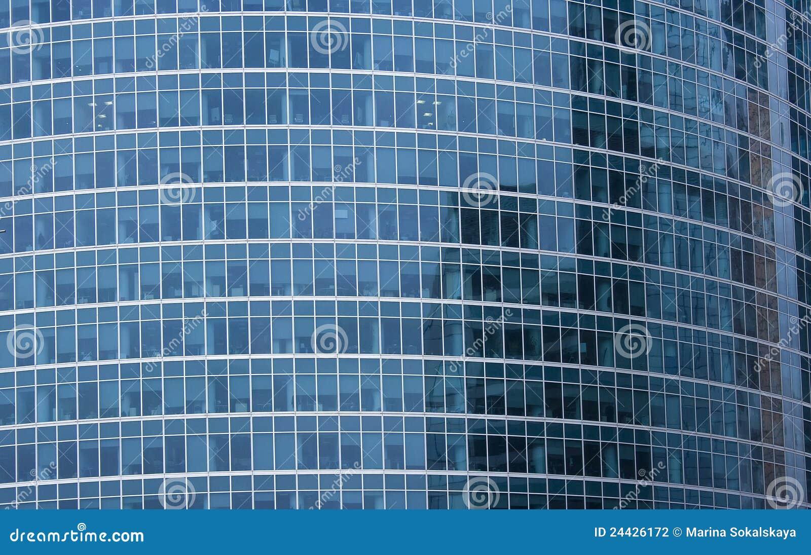 Fa ade d 39 immeuble de bureaux photographie stock image for Facade immeuble moderne