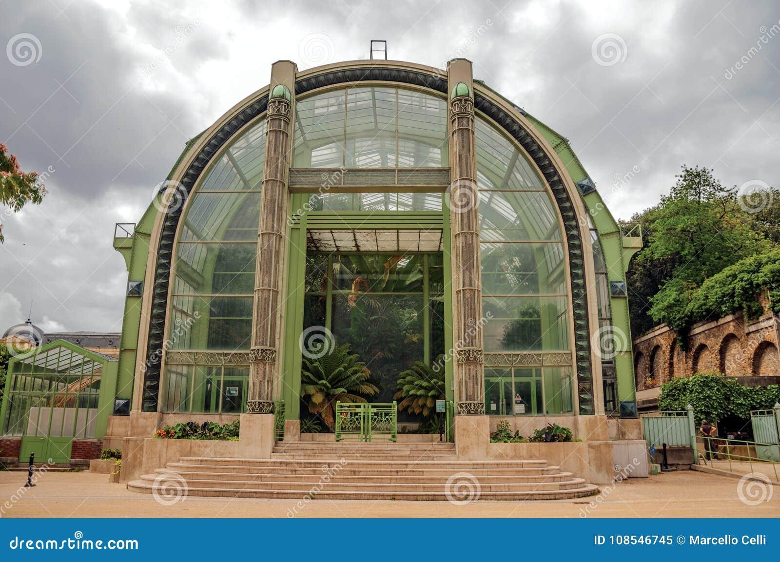 Facade De Jardin D Hiver Une Serre Chaude De Deco Pour Les Usines
